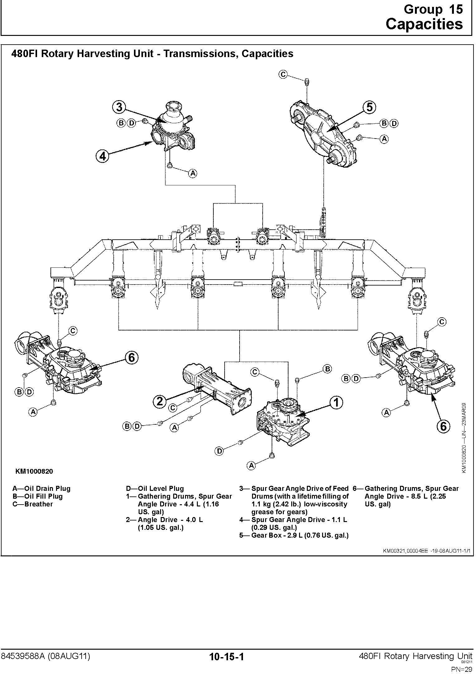 New Holland 480FI Row Independent Corn Head Service Manual - 2