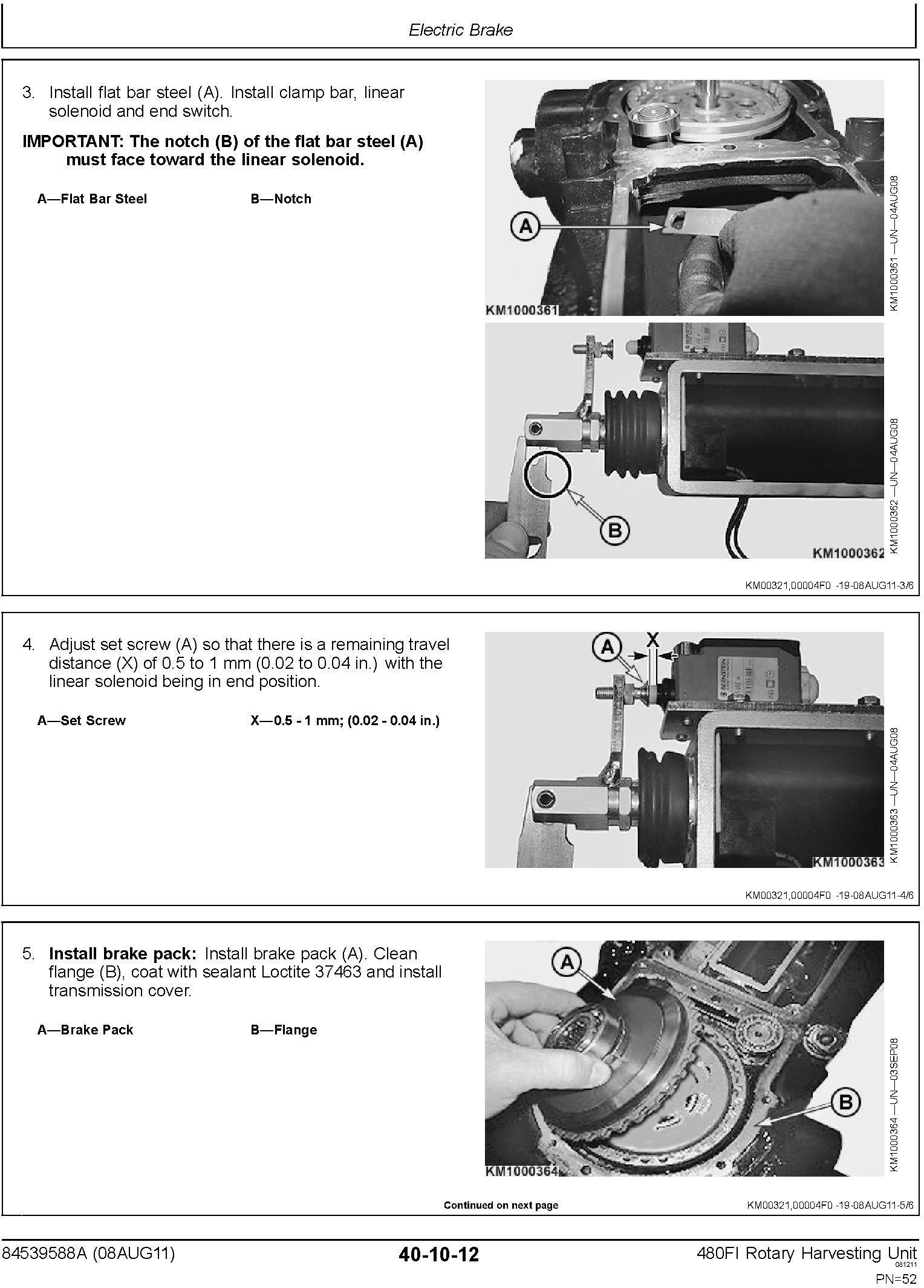 New Holland 480FI Row Independent Corn Head Service Manual - 3