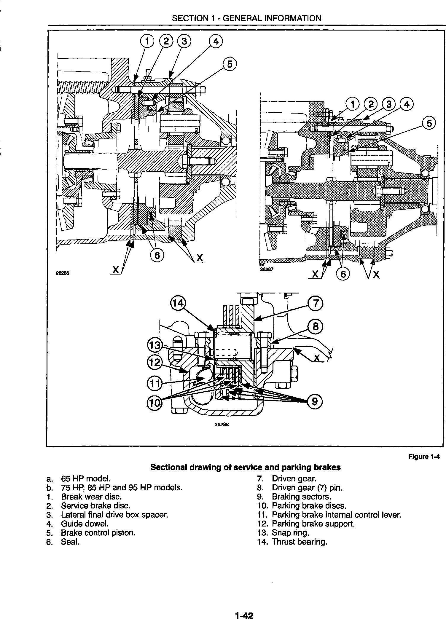 New Holland 4835, 5635, 6635, 7635 Tractor Complete Service Manual - 1