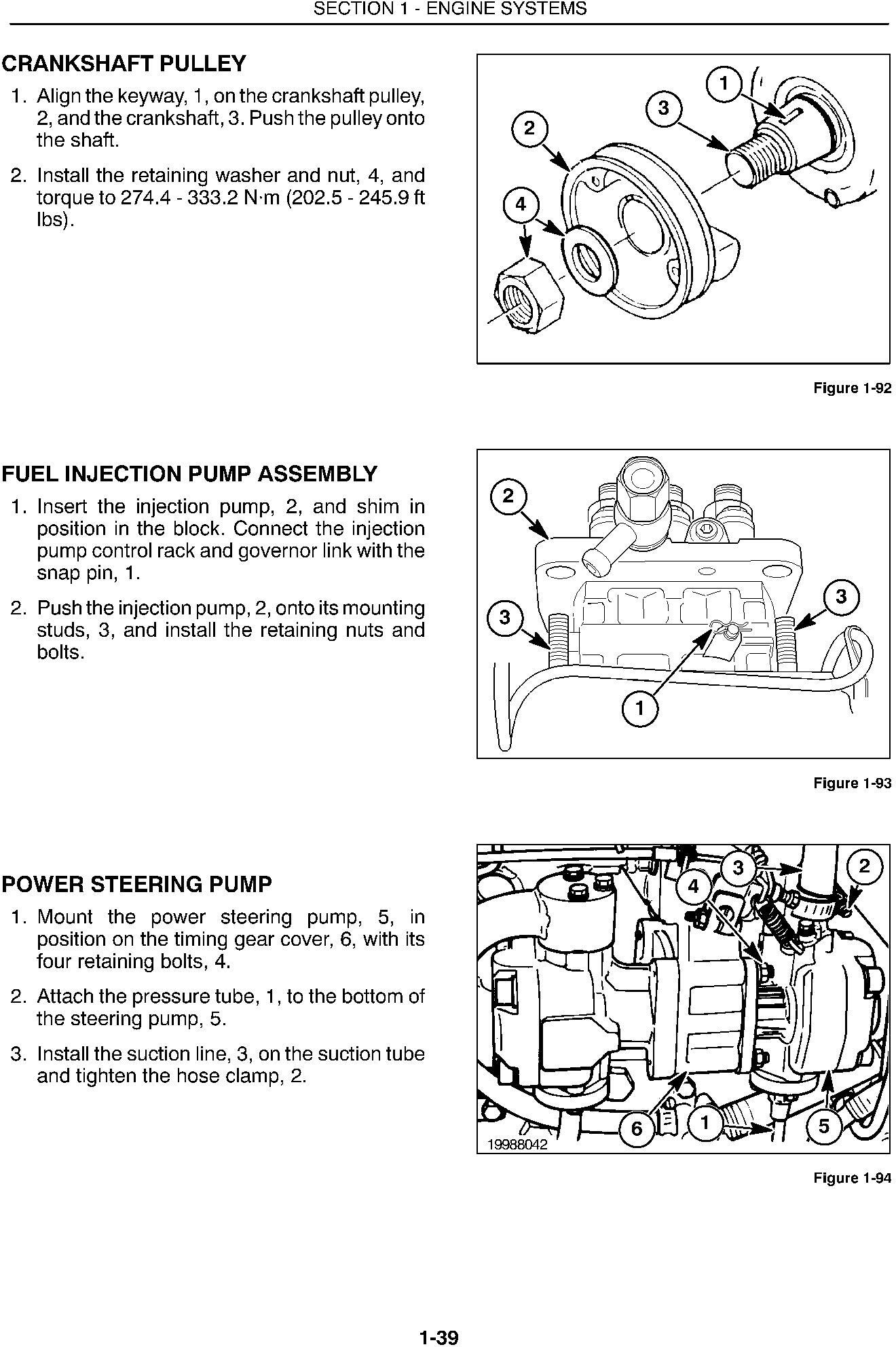 New Holland 1530, 1630, 1725, 1925, TC25, TC25D, TC29, TC29D, TC33, TC33D Tractors Service Manual - 2