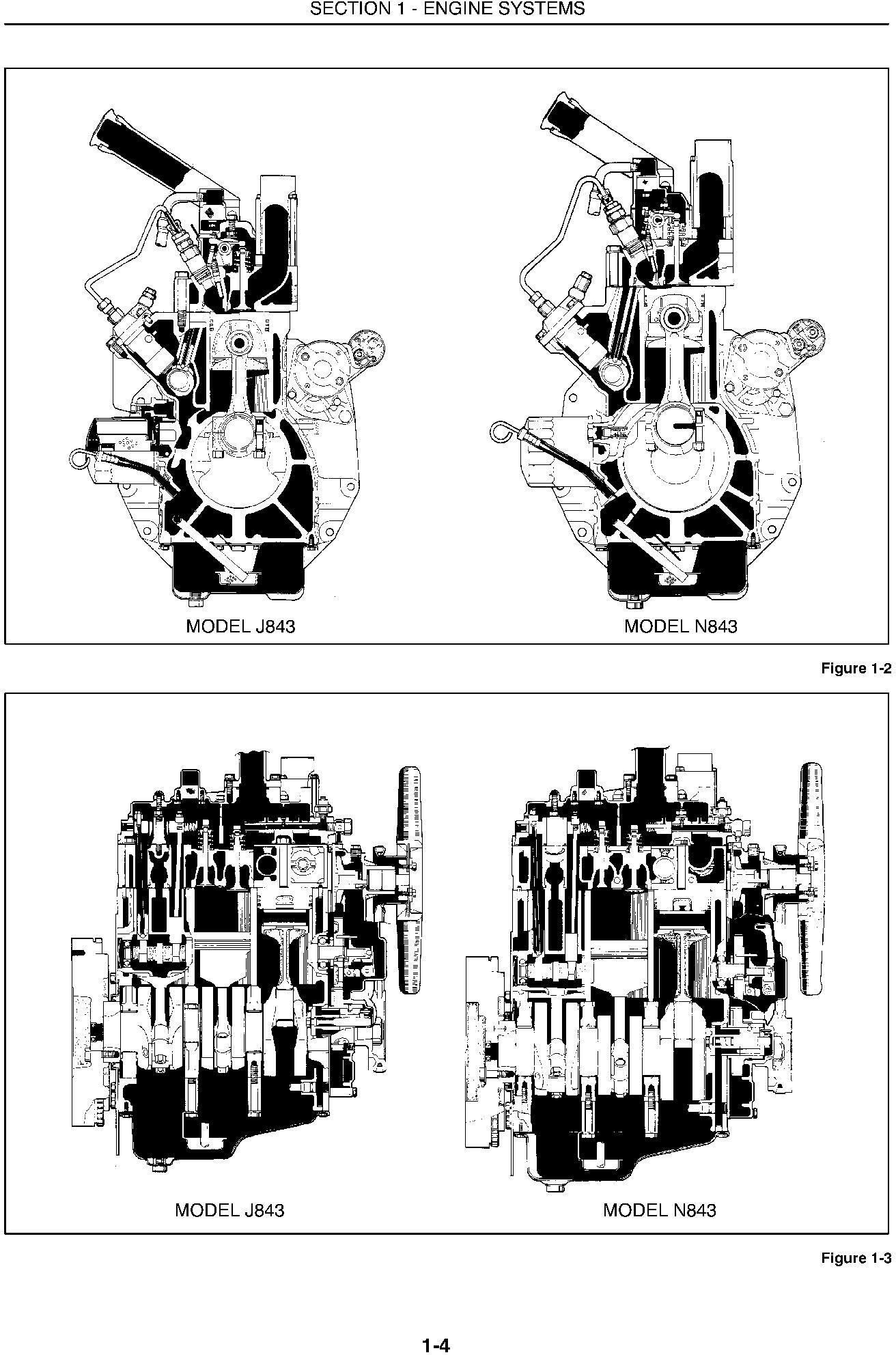 New Holland 1530, 1630, 1725, 1925, TC25, TC25D, TC29, TC29D, TC33, TC33D Tractors Service Manual - 1