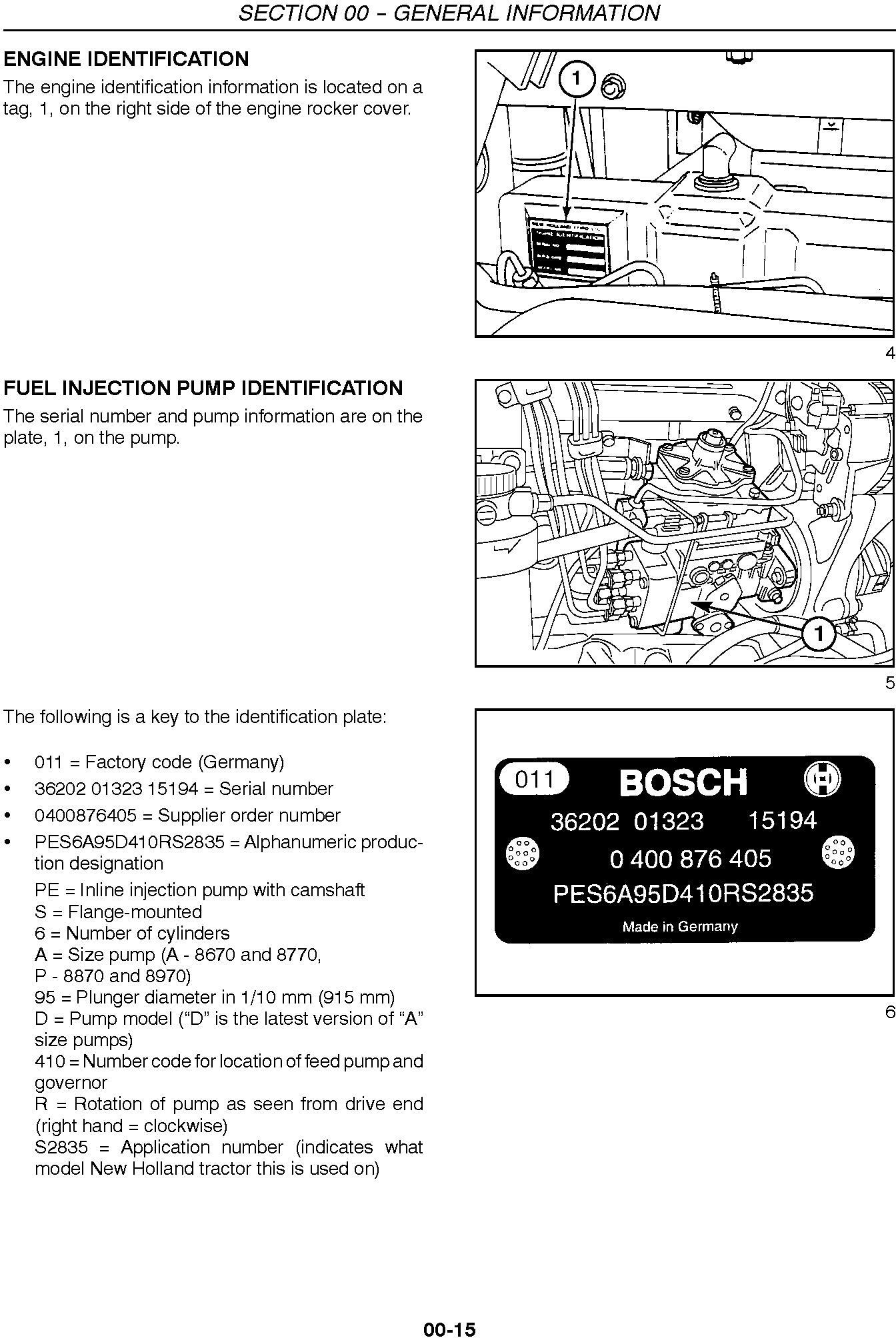 New Holland TV140 Tractor Complete Service Manual - 1