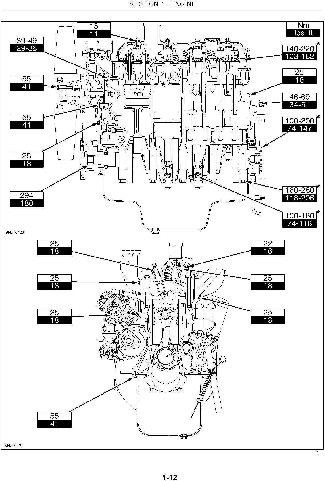 New Holland LB75 Backhoe Loader Service Manual - 1