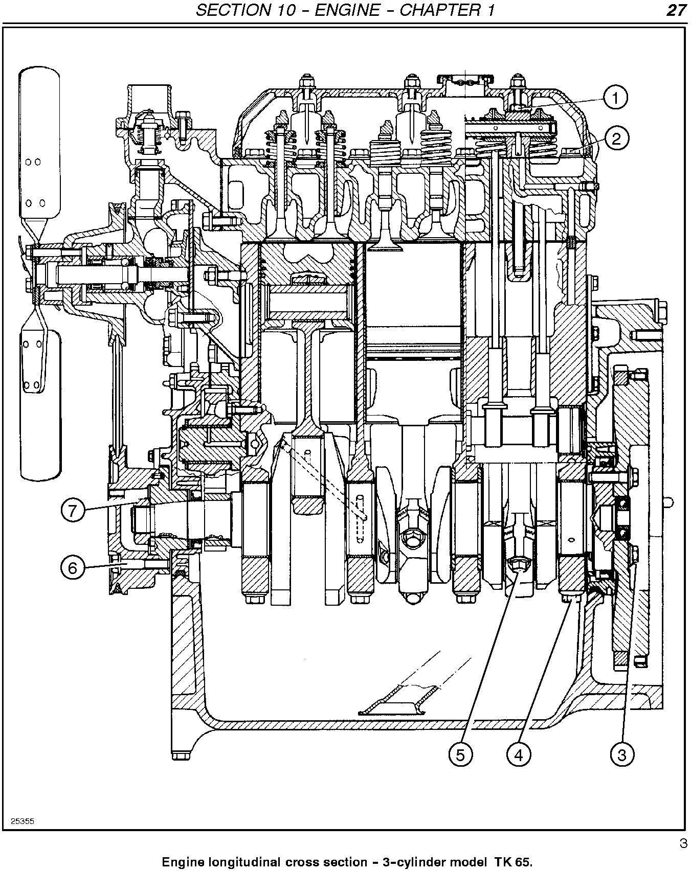 New Holland TK76, TK85, TK85M Crawler Tractor Complete Service Manual - 1