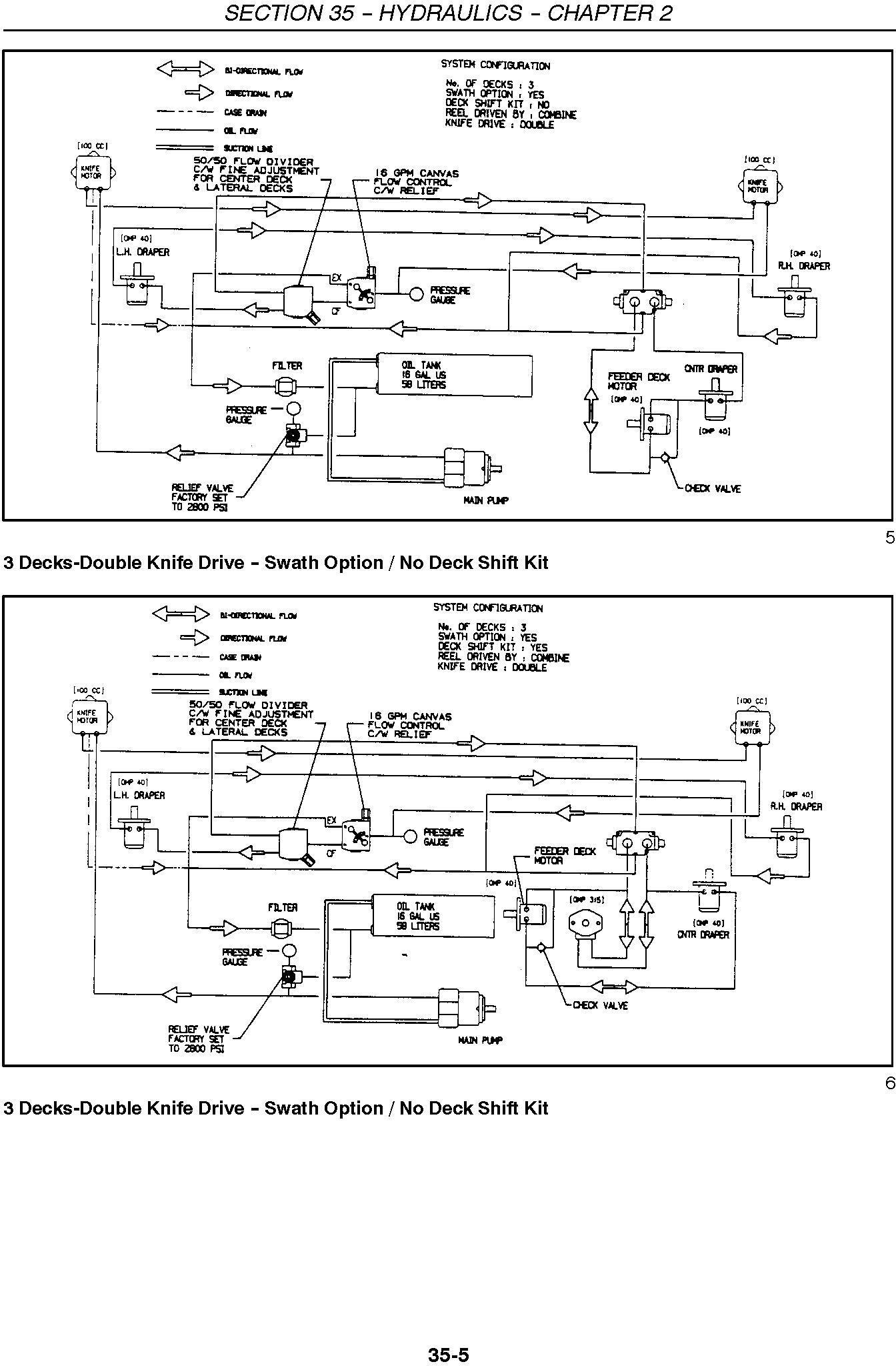 New Holland 994, 92c, 94c Grain Belt Headers Service Manual - 3