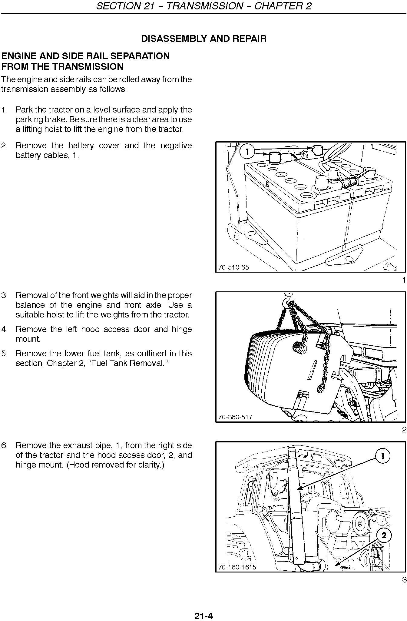 New Holland 8670, 8770, 8870, 8970, 8670A, 8770A, 8870A, 8970A Tractor Service Manual - 2