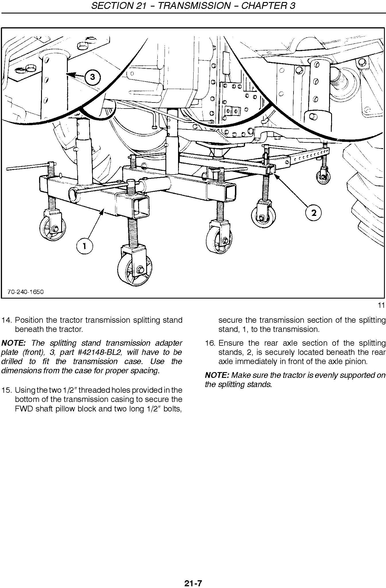 New Holland 8670, 8770, 8870, 8970, 8670A, 8770A, 8870A, 8970A Tractor Service Manual - 1