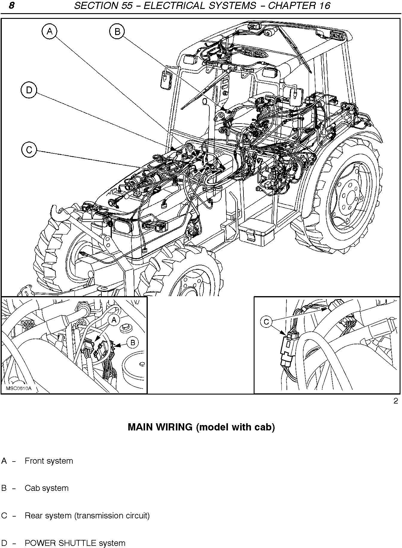 New Holland TN65F, TN70F, TN75F, TN80F, TN90F, TN95F Tractor Service Manual - 3