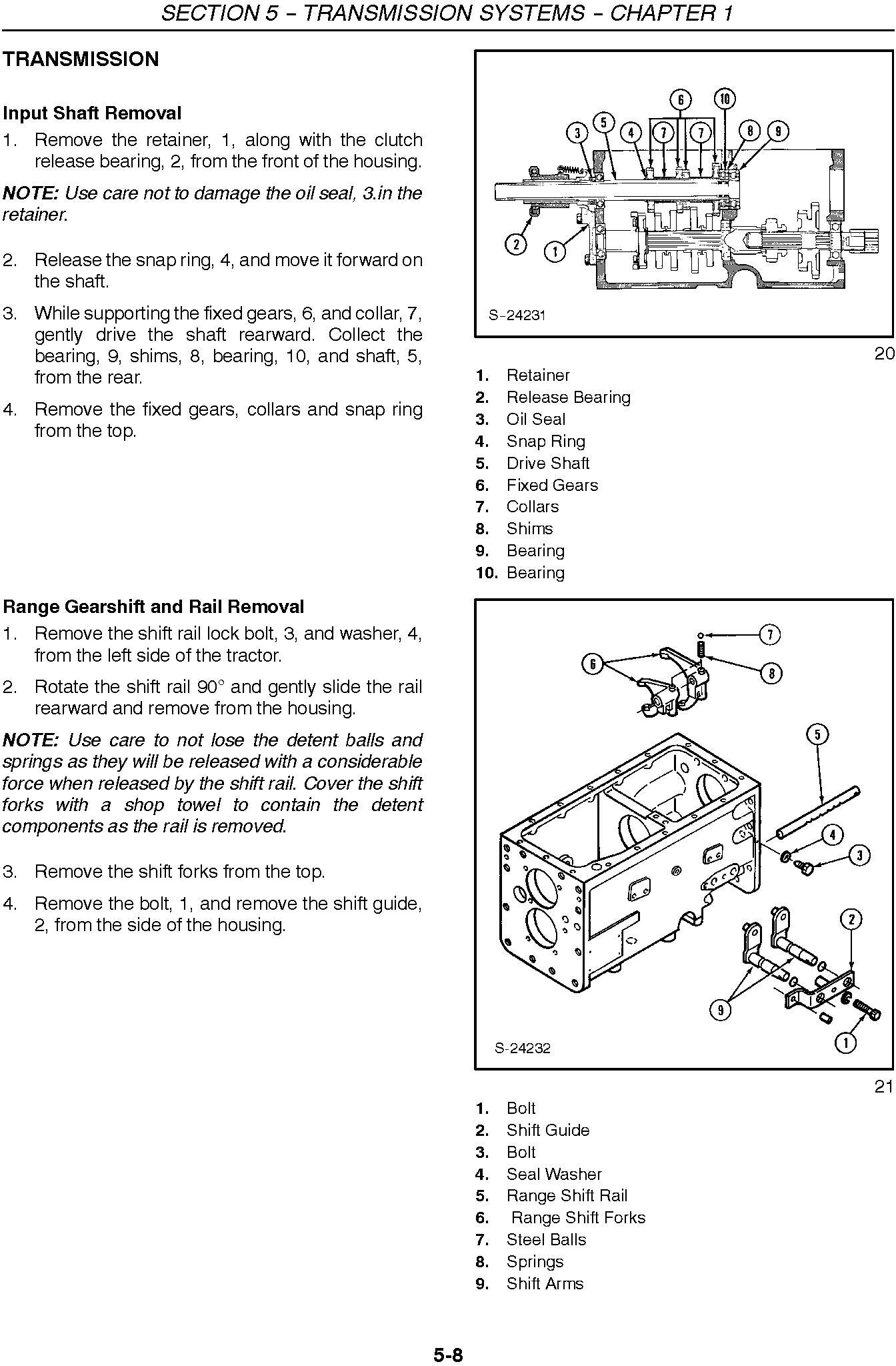New Holland 3415 Compact Tractor Service Repair Manual - 2