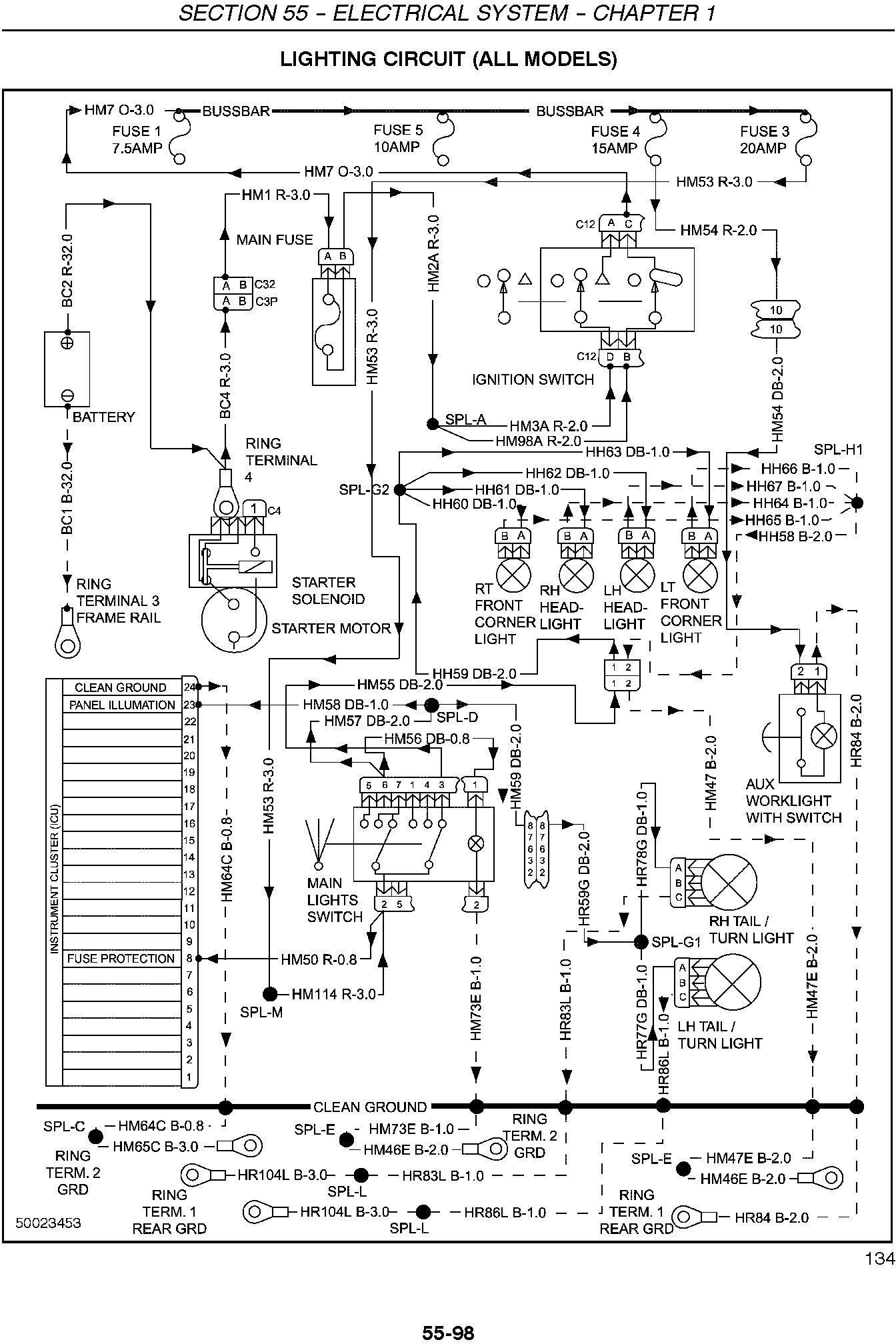 New Holland TC29D, TC33D Tractor Complete Service Manual - 3