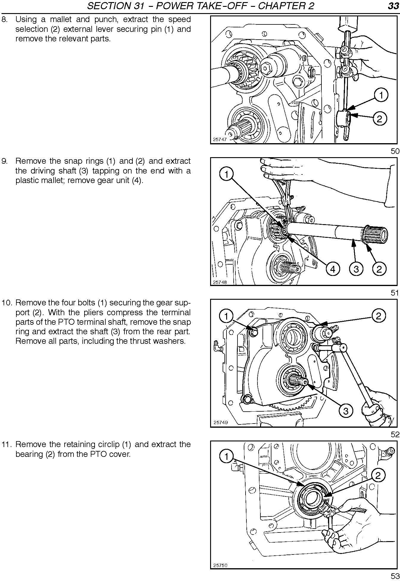 New Holland TL70, TL80, TL90, TL100 Tractors Complete Service Manual - 2