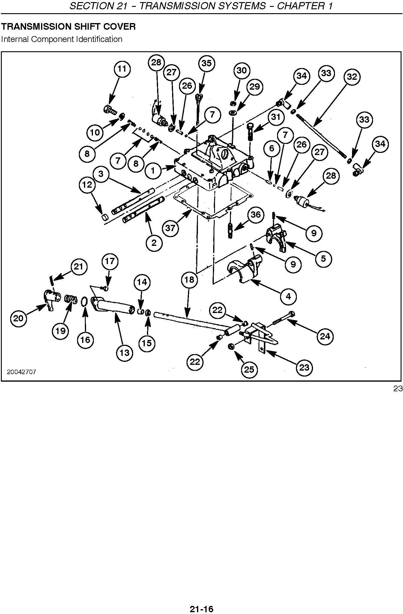 New Holland TC21DA, TC24DA Compact Tractor Complete Service Repair Manual - 2