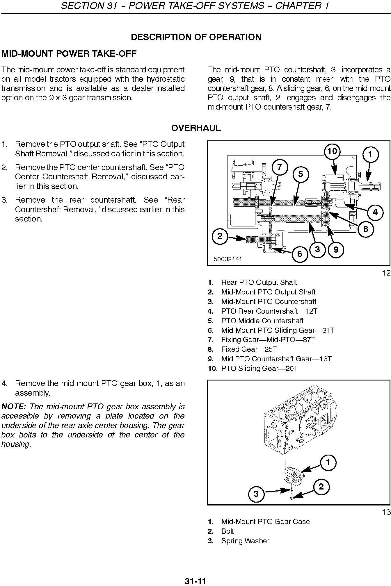 New Holland TC29DA, TC33DA Compact Tractor Complete Service Manual - 3