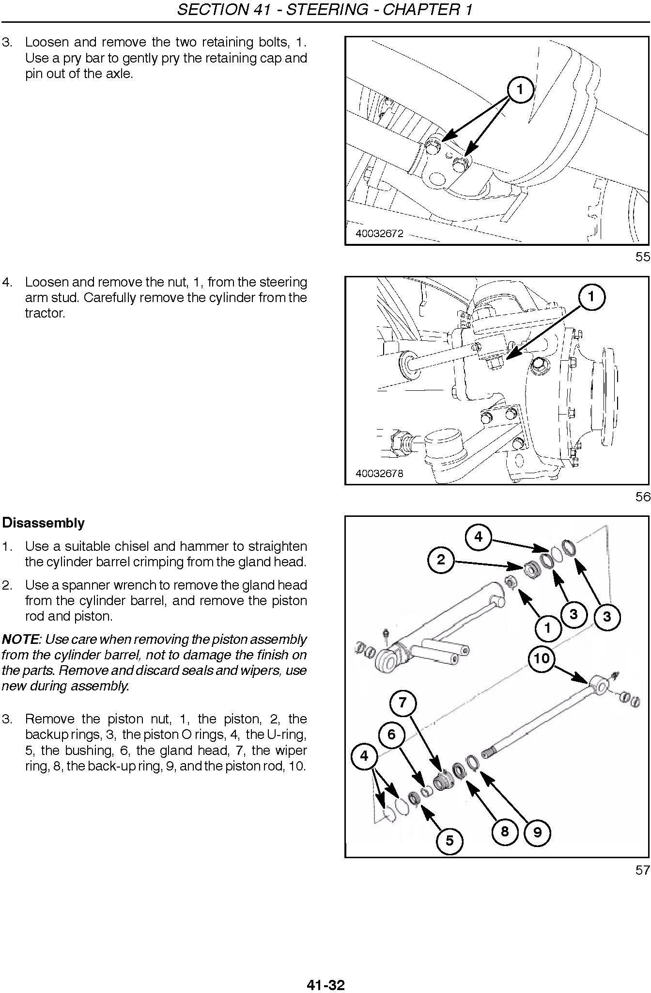 New Holland TC48DA, TC55DA Compact Tractor Complete Service Manual - 3