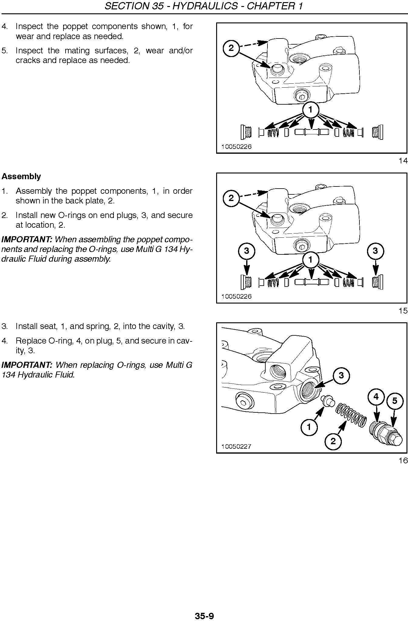 New Holland 2353 Discbine Disc Header Service Manual - 2
