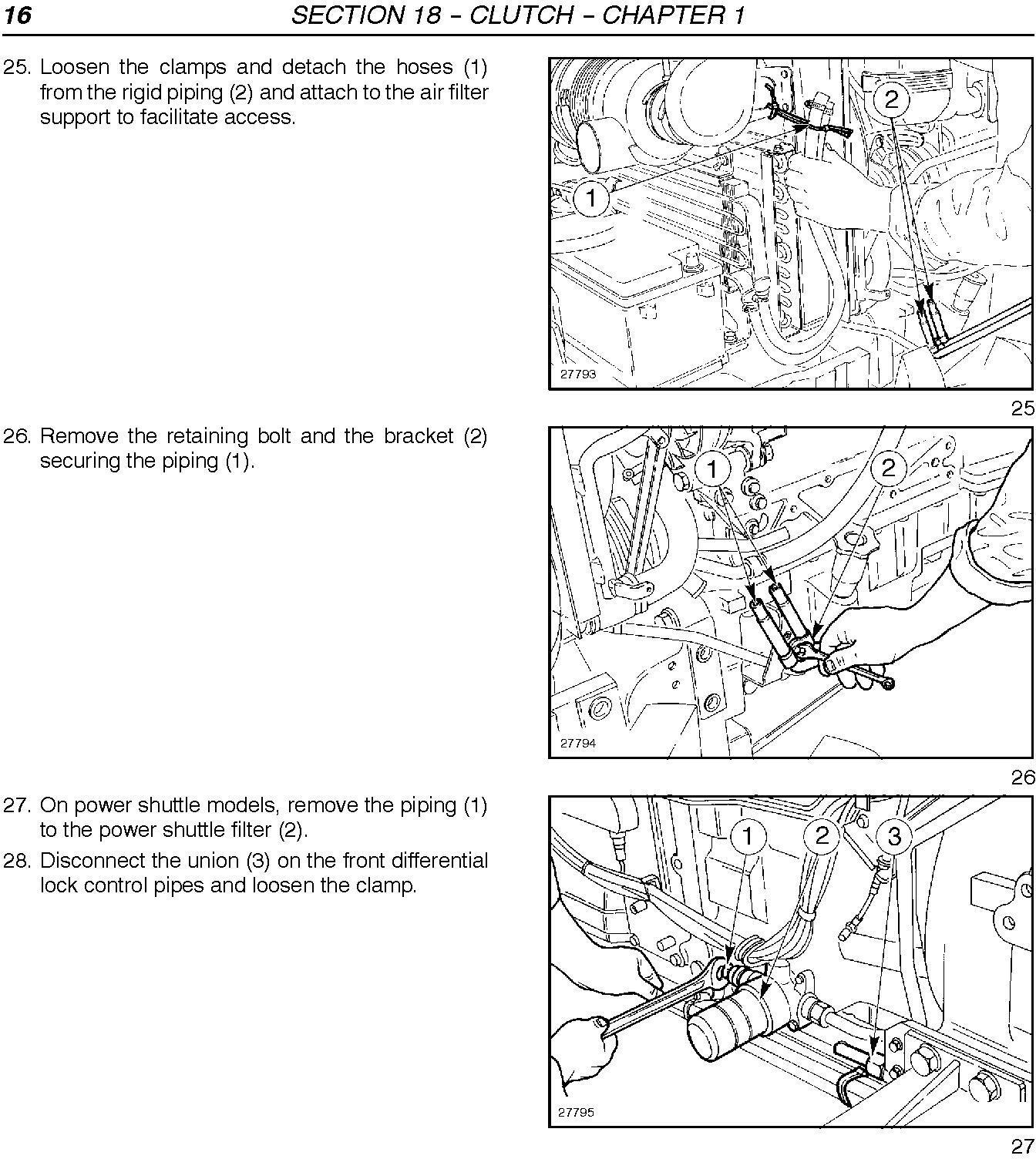 New Holland TN60DA, TN60SA , TN70DA, TN70SA, TN75DA, TM75SA, TN85DA, TN95DA Tractor Service Manual - 2