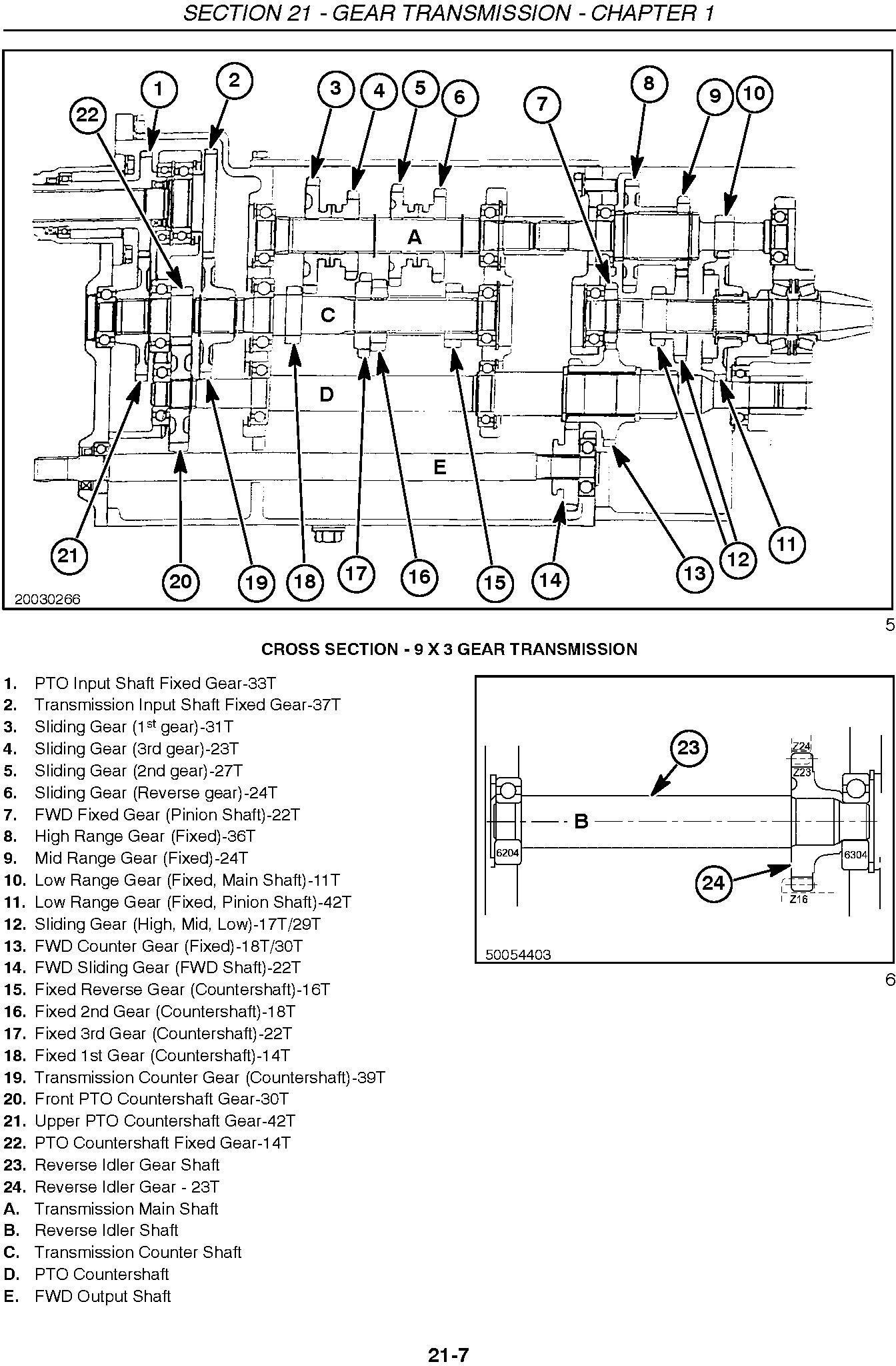 New Holland TC31DA, TC34DA Compact Tractor Complete Service Manual - 2
