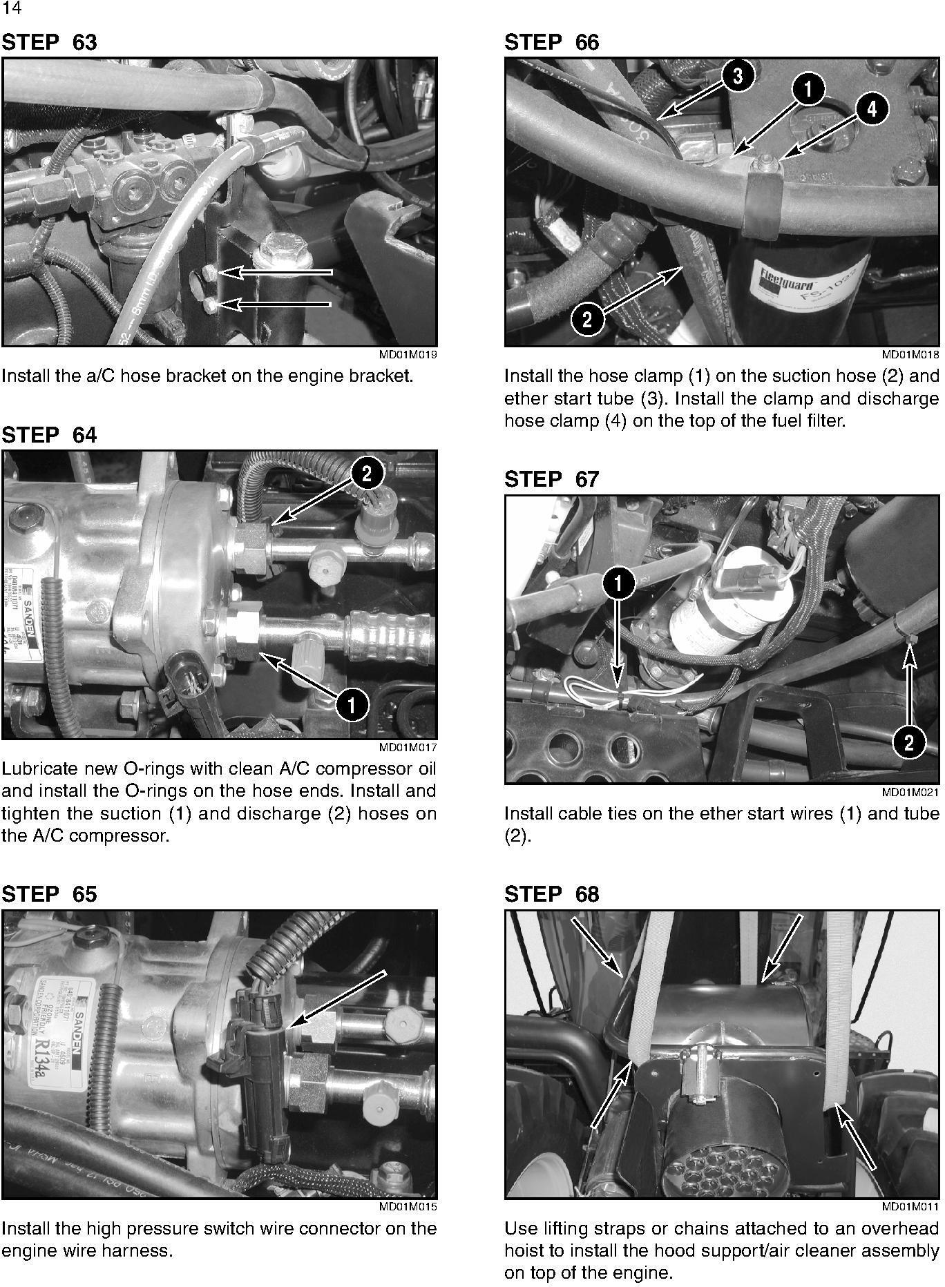 New Holland TJ275, TJ325, TJ375, TJ425, TJ450, TJ500 Tractors Complete Service Manual - 1