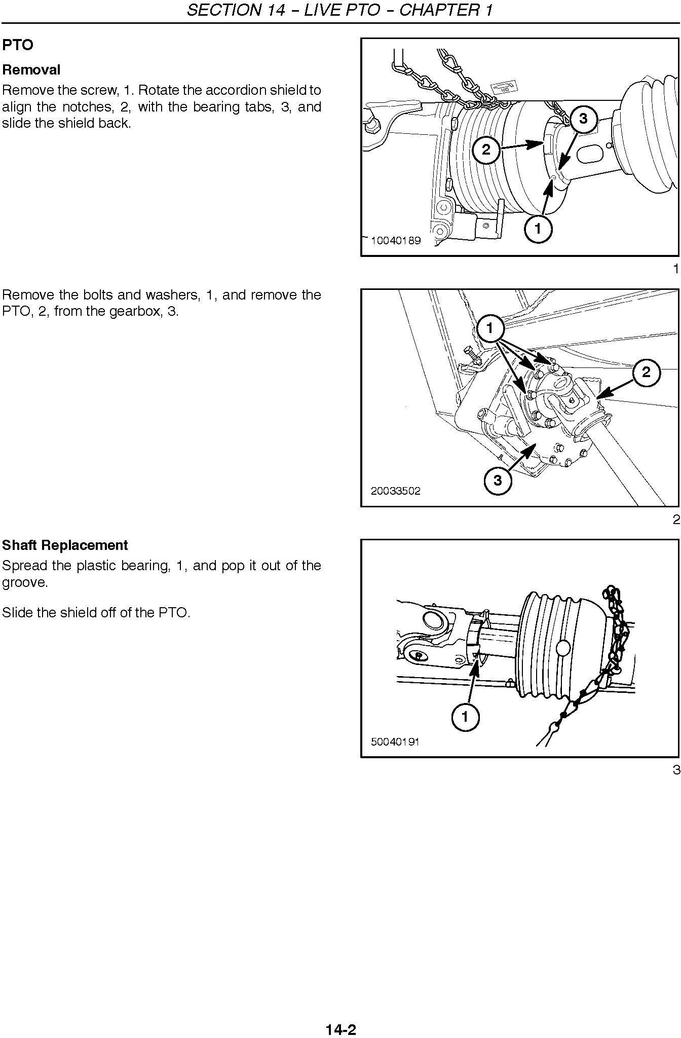 New Holland 346W, 356W, 366W SP Forage Pickup Heads Service Manual - 2