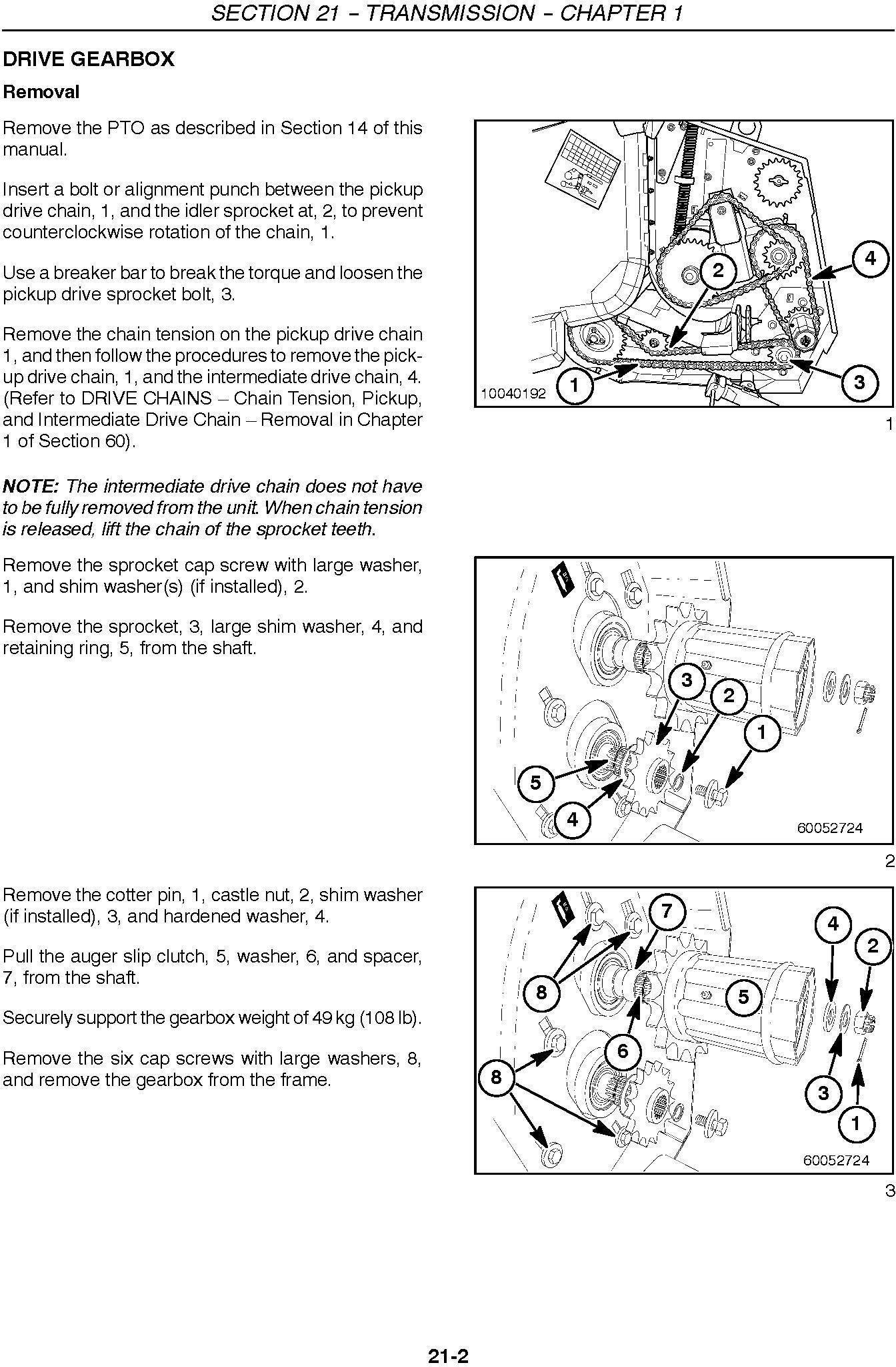 New Holland 346W, 356W, 366W SP Forage Pickup Heads Service Manual - 3