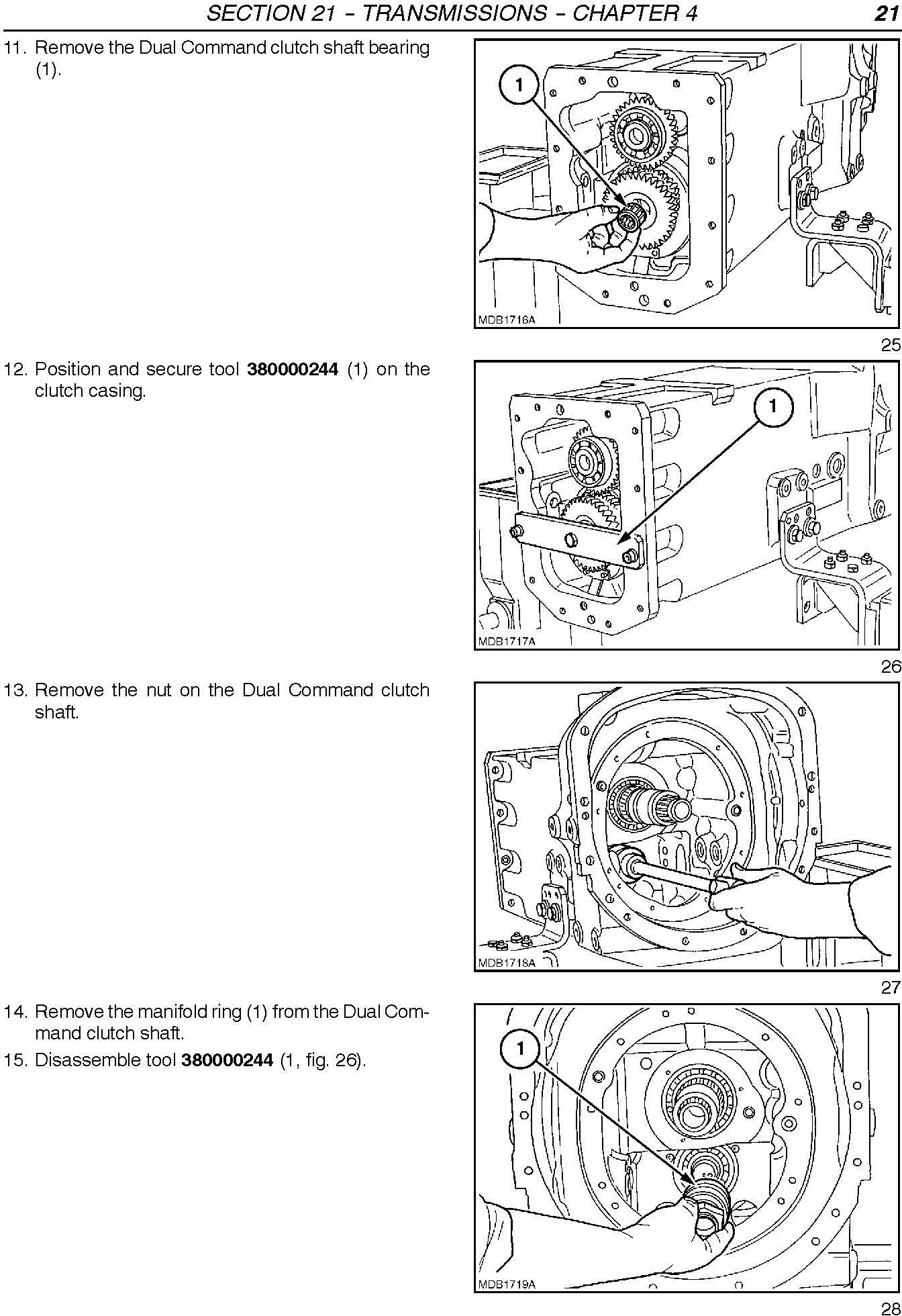 New Holland TL80A, TL90A, TL100A Tractors Complete Service Manual - 2