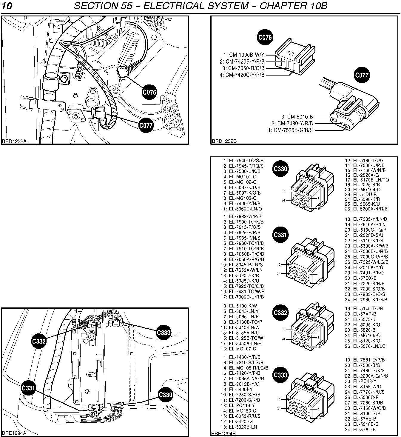 New Holland TM120/125/130/140/150/155, TM175-TM190 Tractor Fault Codes Diagnostic Service Manual - 1