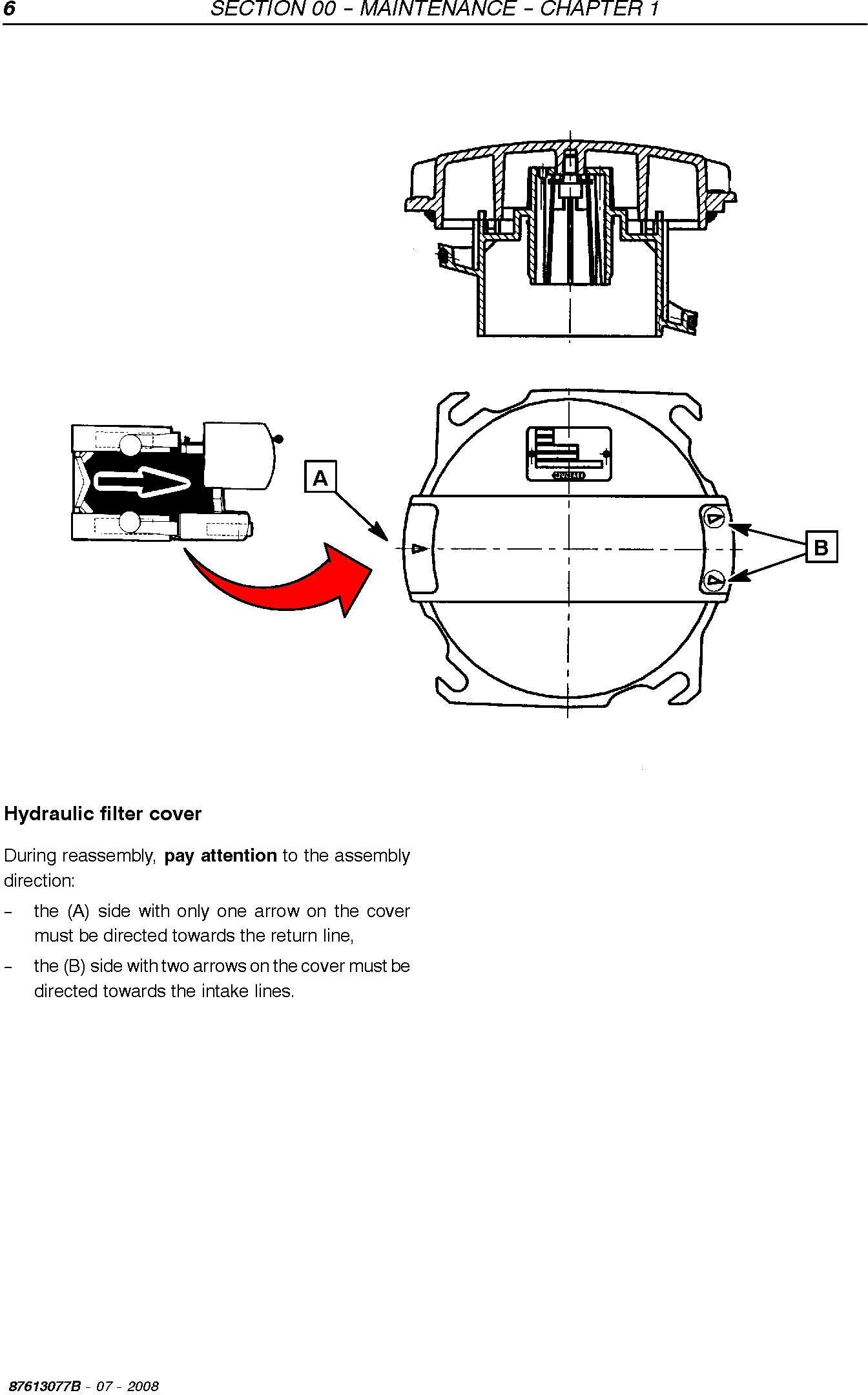 New Holland VL5060, VL5070, VL5080, VM3080 Grape Harvester Service Manual - 2