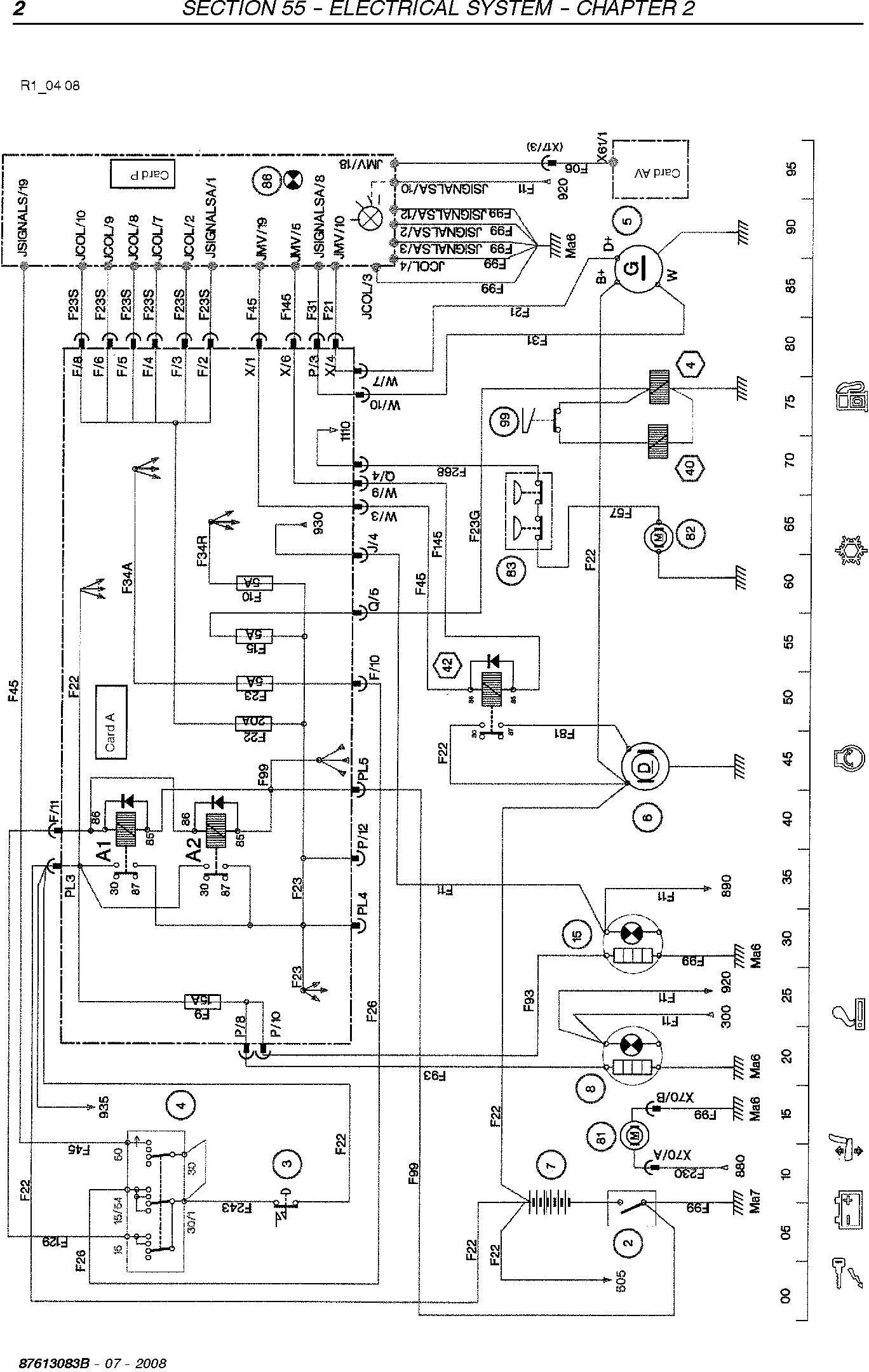 New Holland VL5090, VL6040, VL6050, VL6060, VL6070, VL6080, VL6090, VM3090, VM4090, VN2090 Grape Harvester Service Manual - 3
