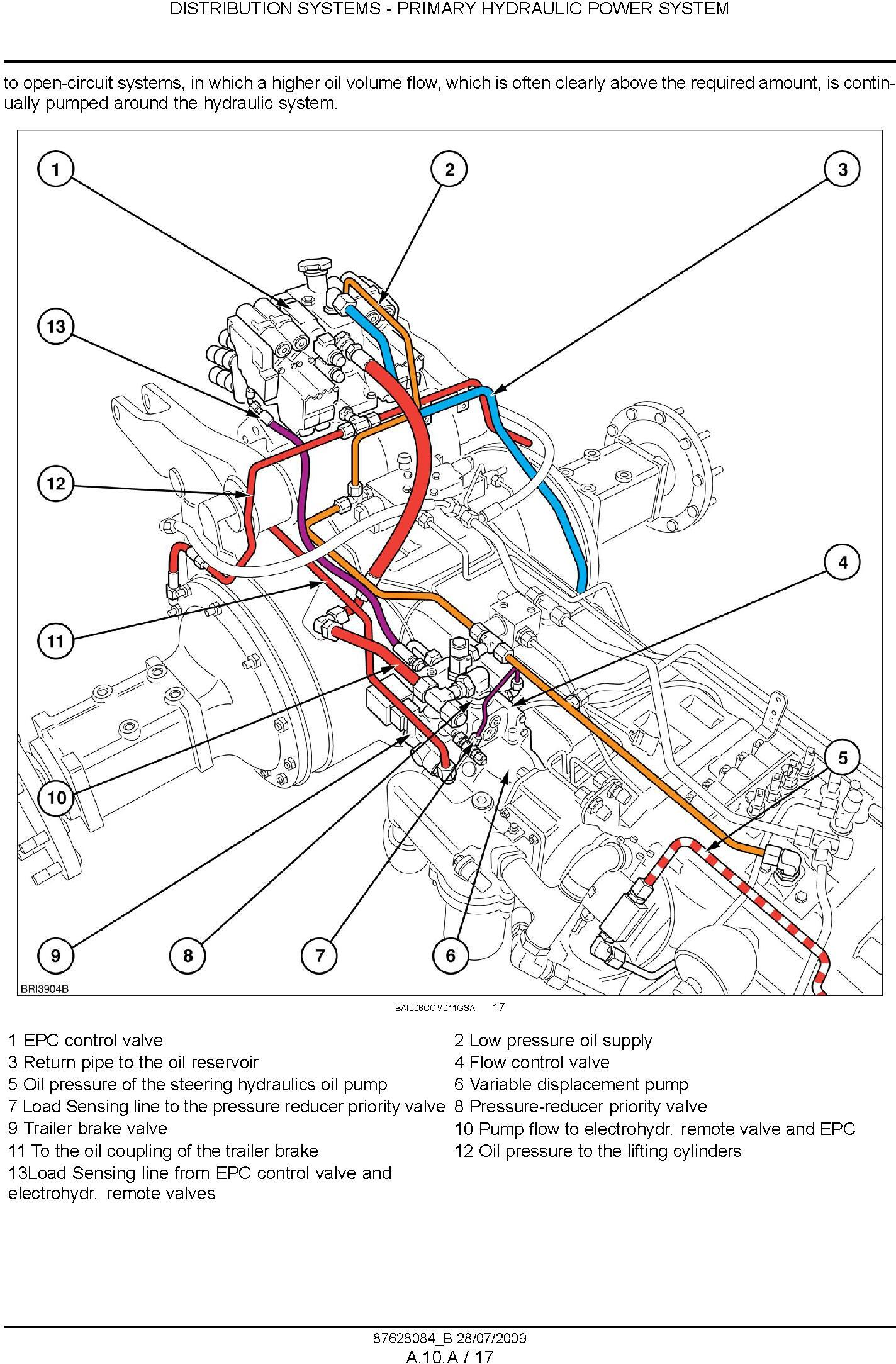 New Holland T7030 T7040 T7050 T7060 Tractor Service Manual - 1