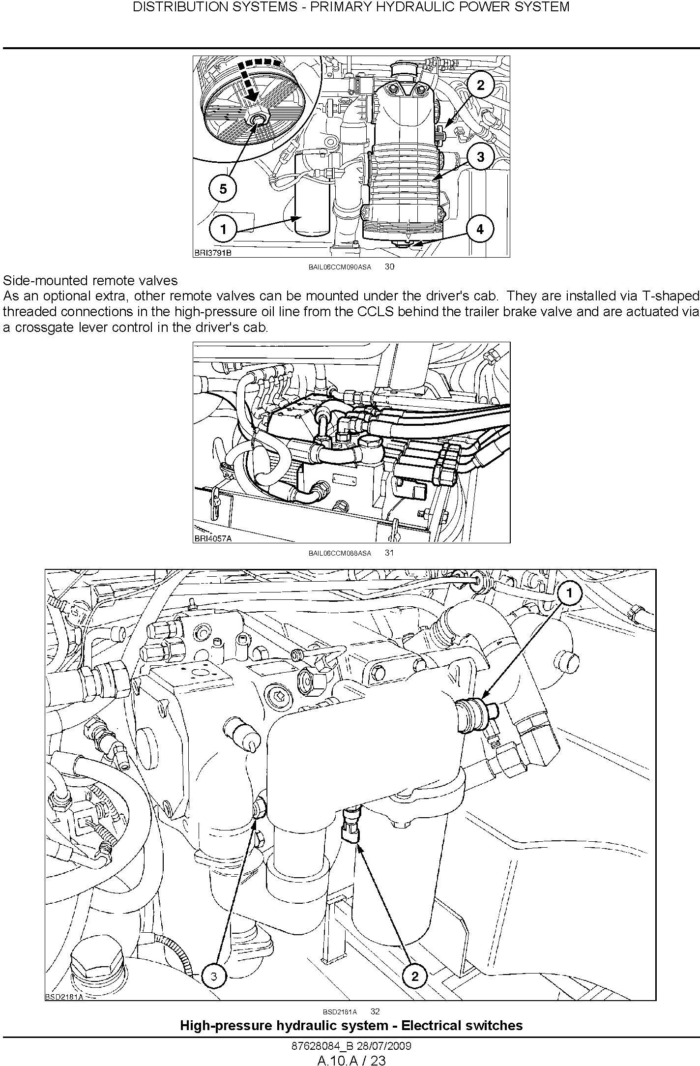 New Holland T7030 T7040 T7050 T7060 Tractor Service Manual - 2