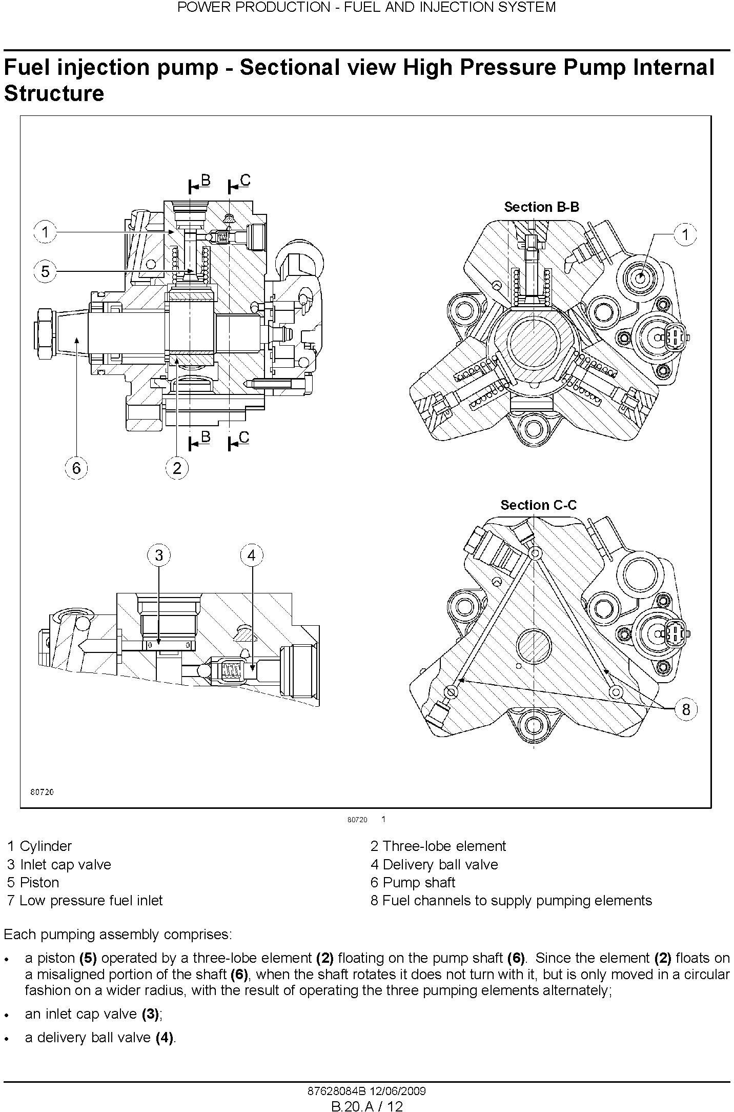 New Holland T7030, T7040, T7050, T7060 Tractor Service Manual - 3