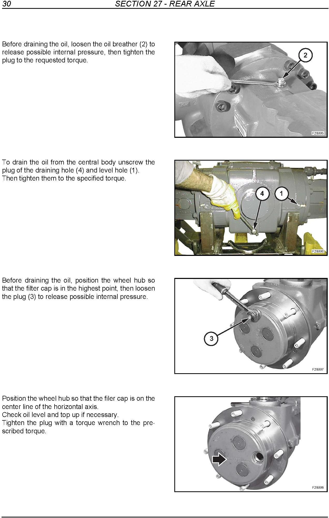 New Holland B110, B115 Tier 3 Loader Backhoe Service Manual - 3