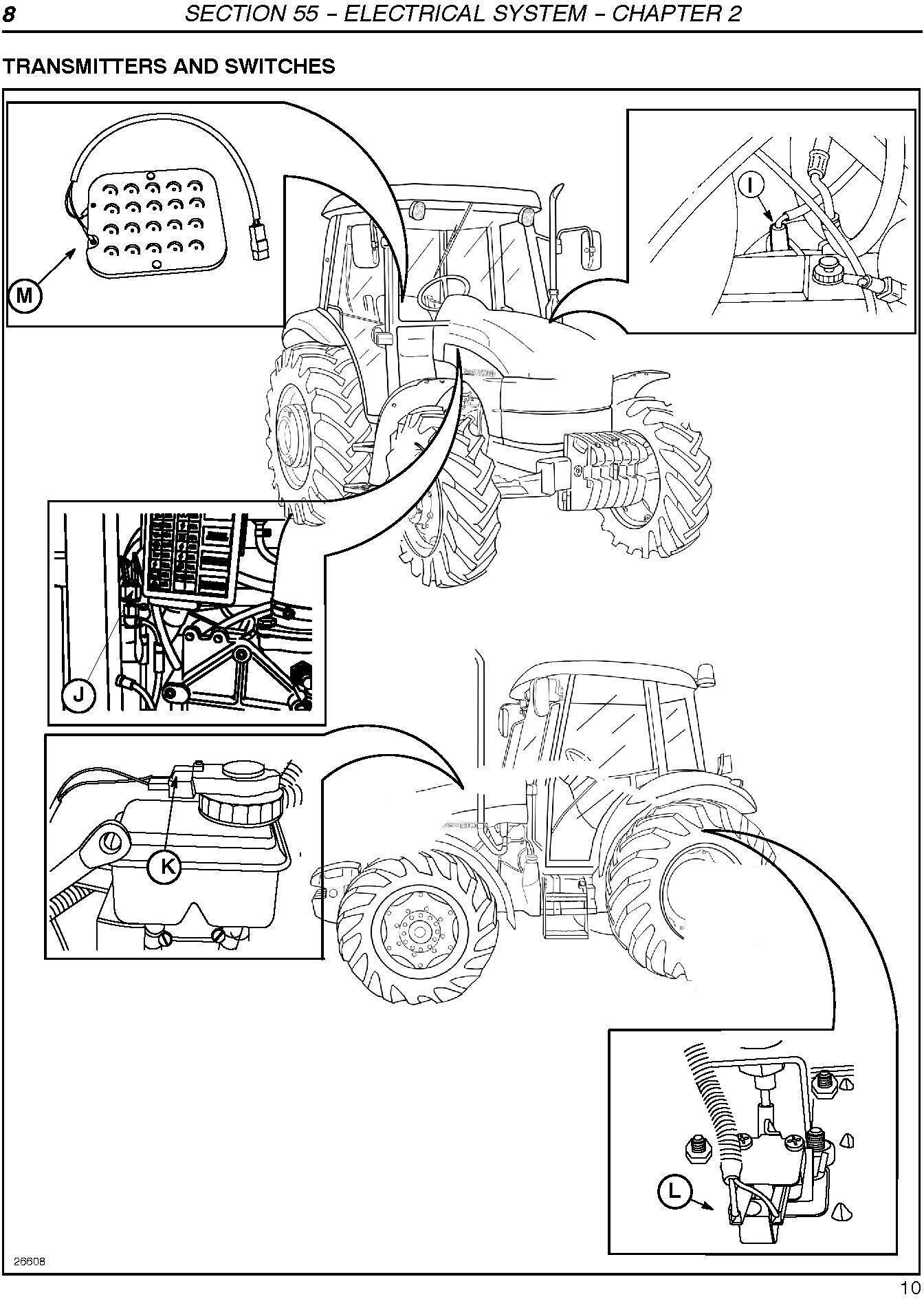 New Holland TD80D, TD95D Tractor Service Manual - 3