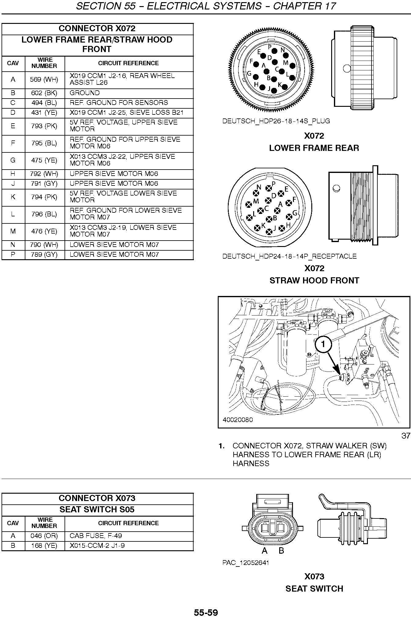 New Holland CR9040, CR9060, CR9070 Combine Service Manual - 3