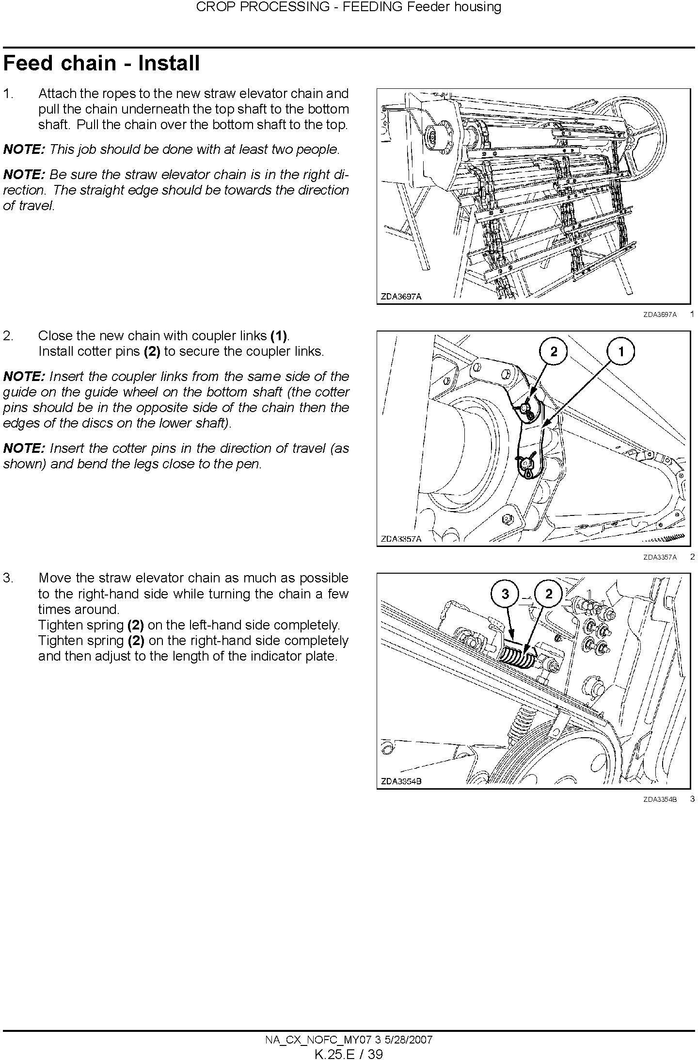 New Holland CX8070, CX8080, CX8090 Combine Service Manual - 3