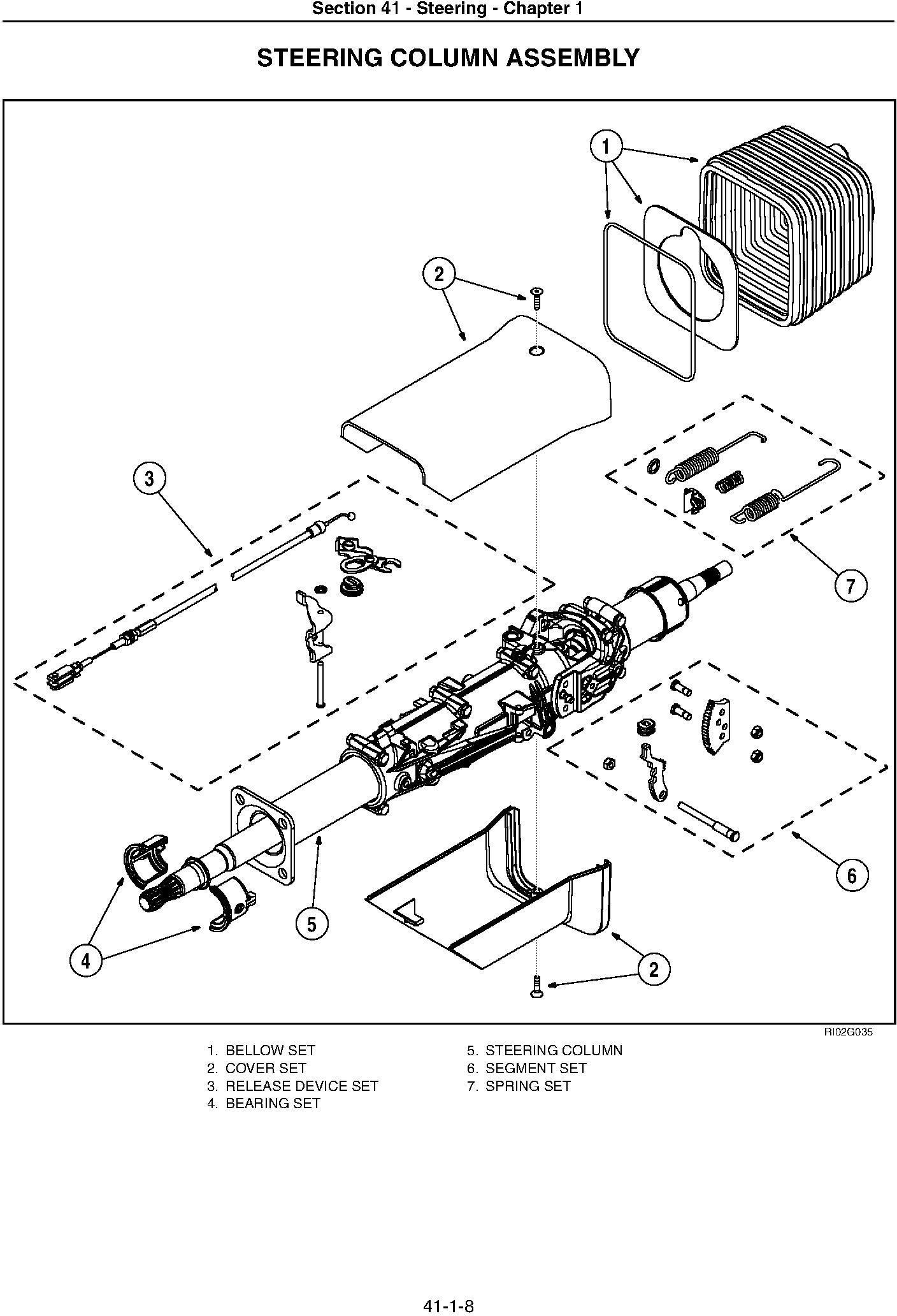 New Holland TG215, TG245, TG275, TG305 Tractor Service Manual - 2