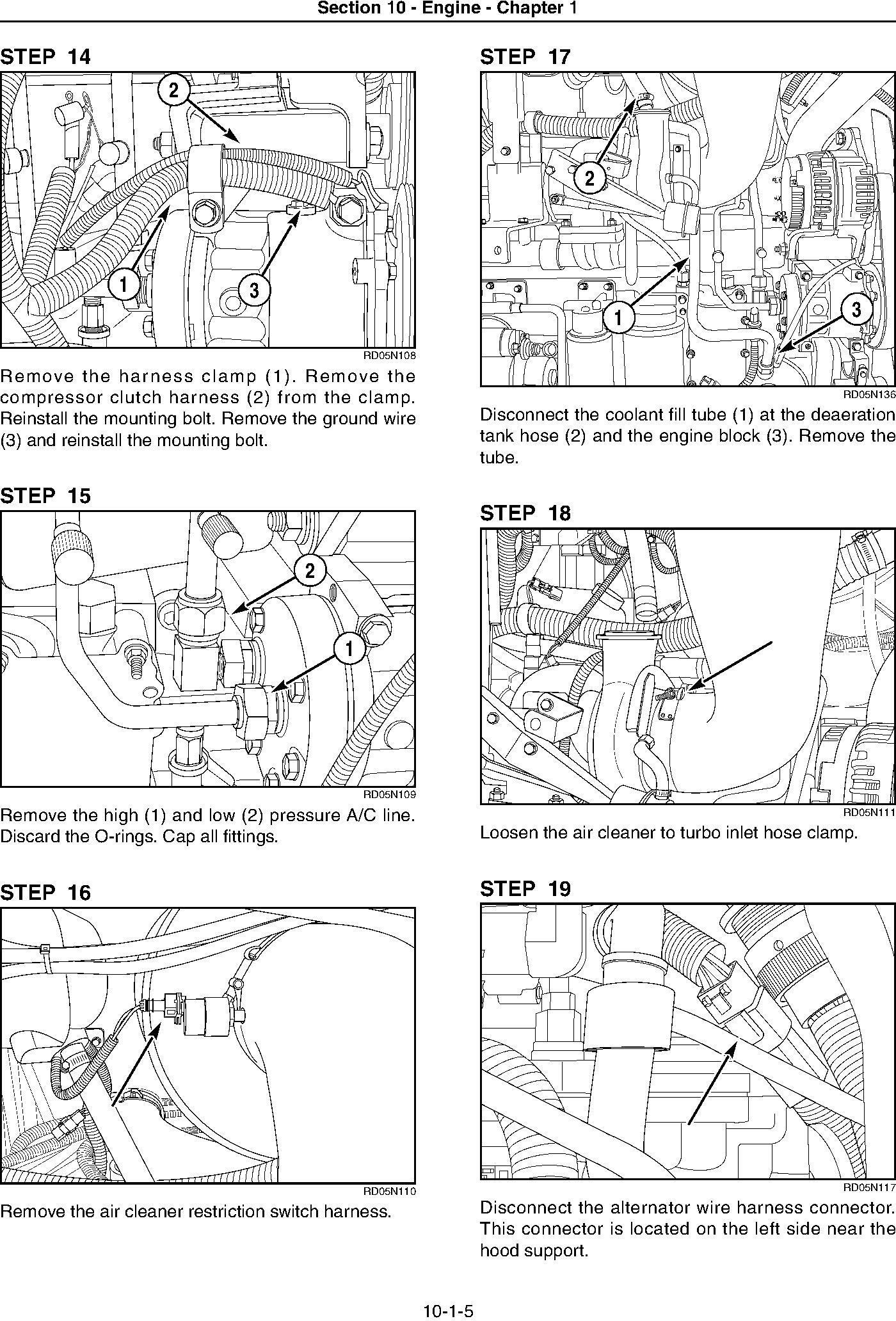 New Holland TG215, TG245, TG275, TG305 Tractor Service Manual - 1