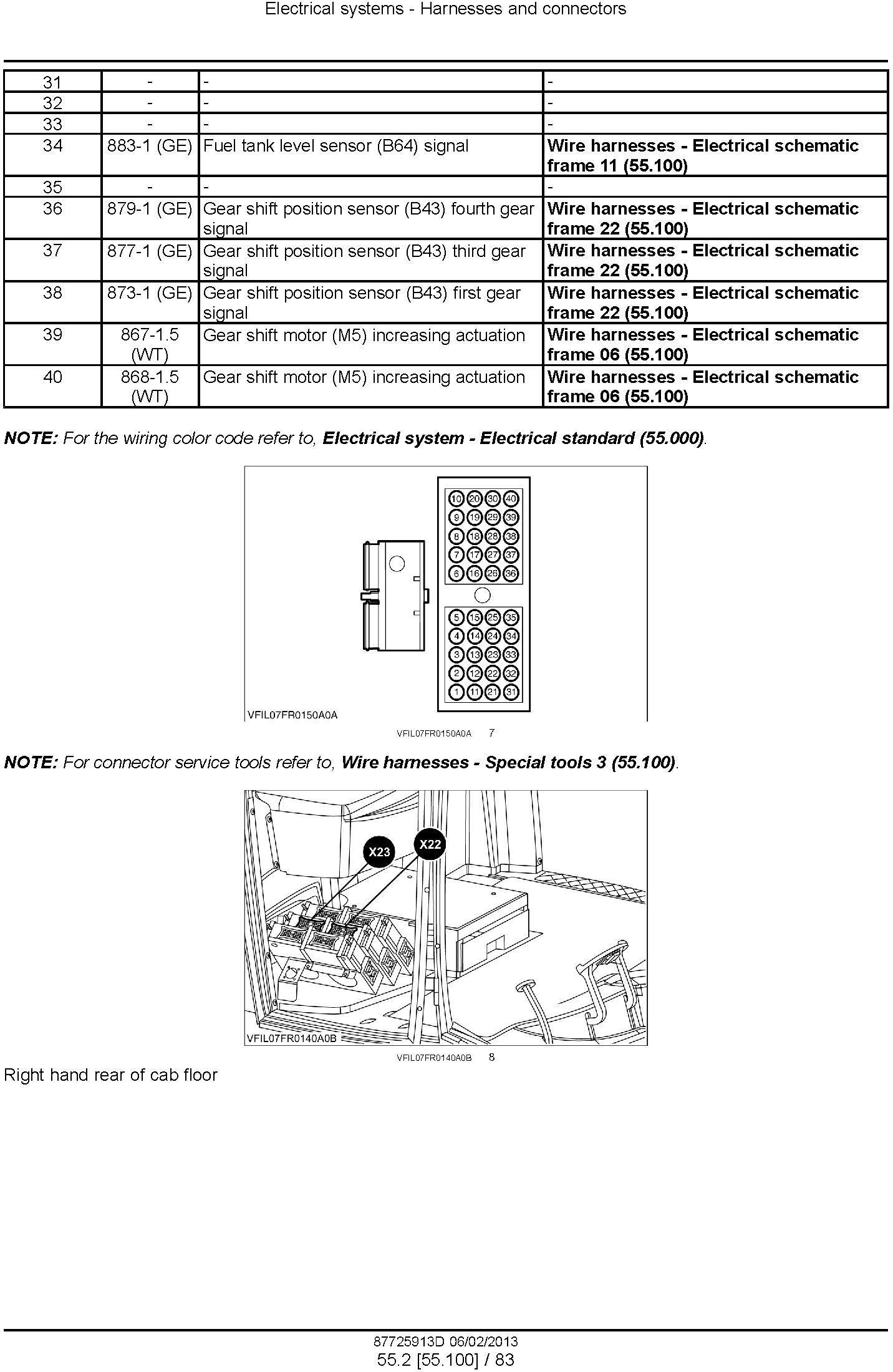 New Holland FR9040, FR9050, FR9060, FR9080, FR9090 Forage Harvester Service Manual - 2