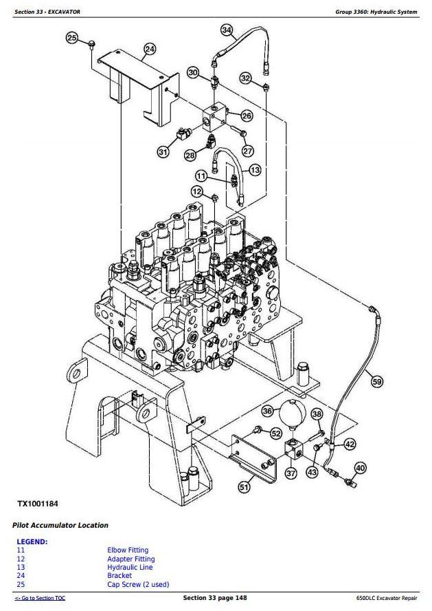 TM10010 - John Deere 650DLC Excavator Service Repair Technical Manual - 2