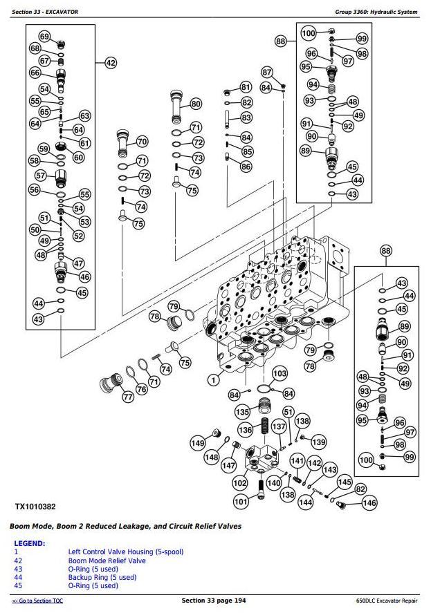 TM10010 - John Deere 650DLC Excavator Service Repair Technical Manual - 3