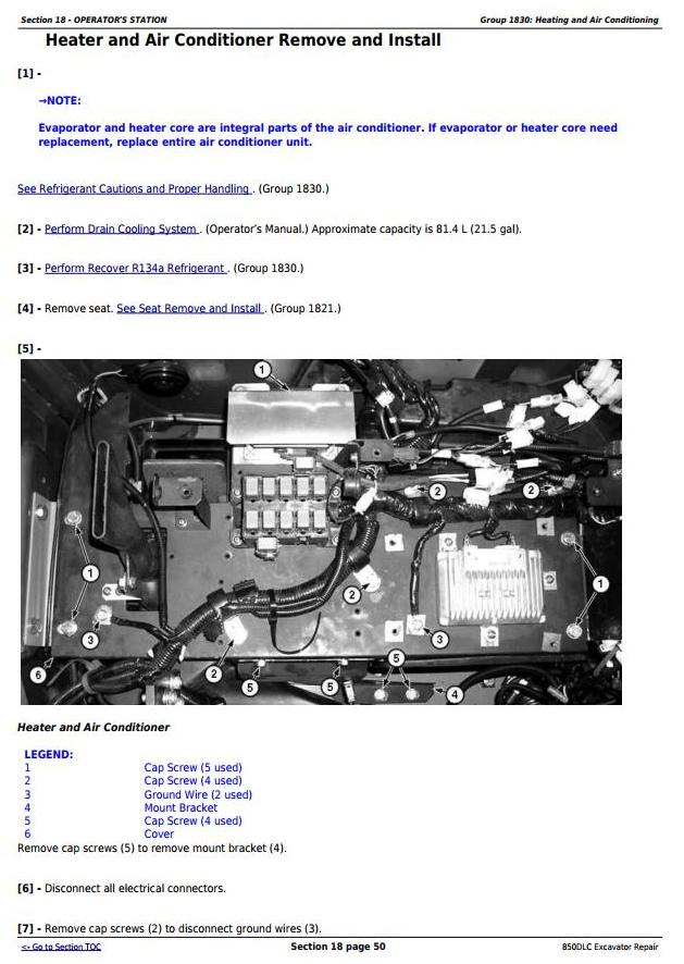 TM10011 - John Deere 850DLC Excavator Diagnostic, Operation and Test Service Manual (TM10009) - 2