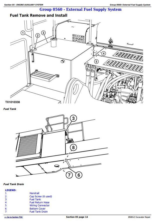 TM10011 - John Deere 850DLC Excavator Diagnostic, Operation and Test Service Manual (TM10009) - 3
