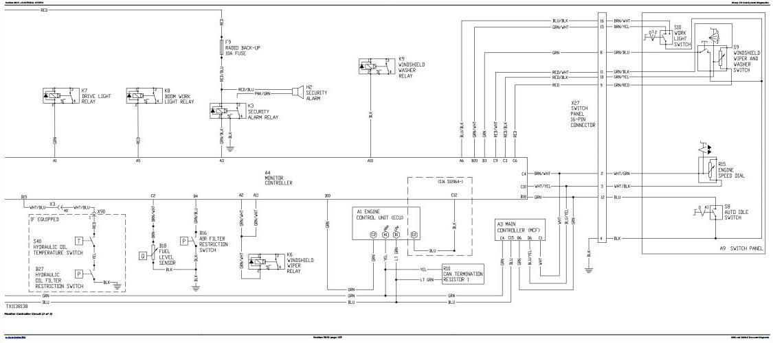 TM10076 - John Deere 200D and 200DLC Excavator Diagnostic, Operation and Test Service Manual - 1
