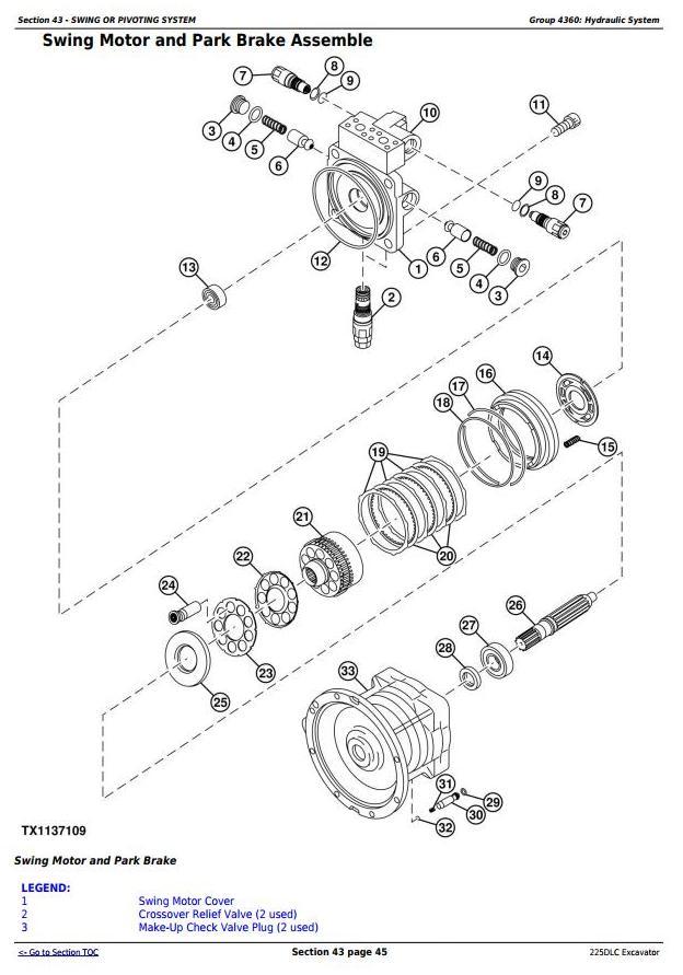 TM10085 - John Deere 225DLC Excavator Service Repair Technical Manual - 3