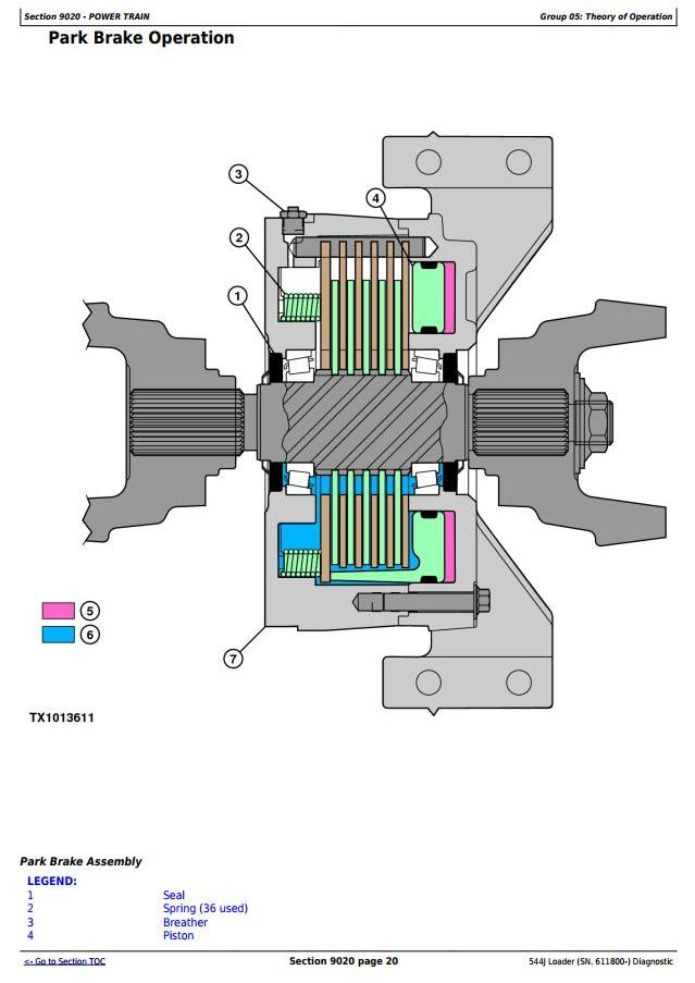 TM10229 - John Deere 544J 4WD Loader (SN.from 611800) Diagnostic, Operation and Test Service Manual - 2
