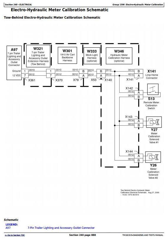 TM102319 - John Deere 1910 (725101-750100) Ground Driven Commodity Air Cart Diagnostic Service Manual - 1