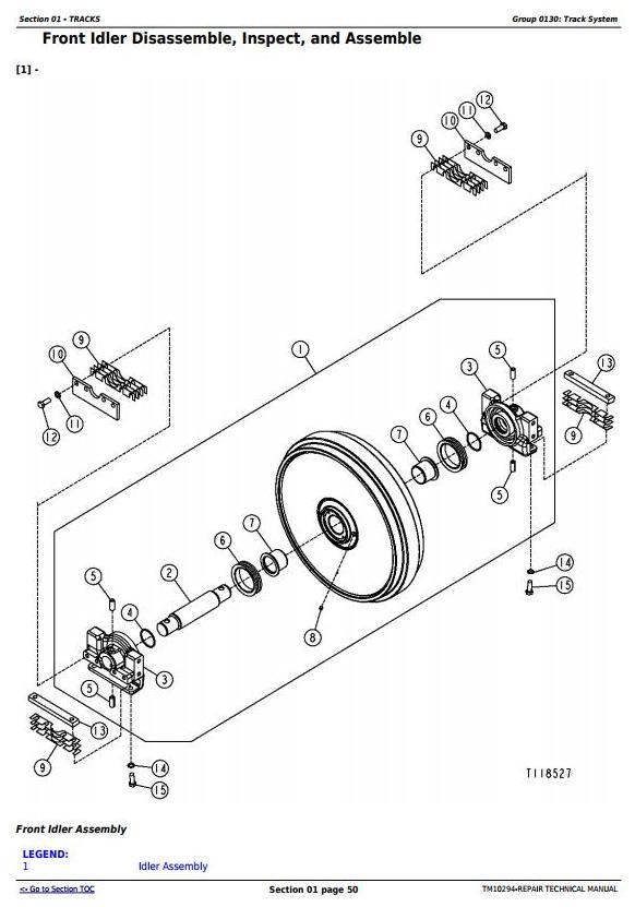 TM10294 - John Deere 450J, 550J, 650J Crawler Dozer (S.N.141667-159986) Service Repair Workshop Manual - 1