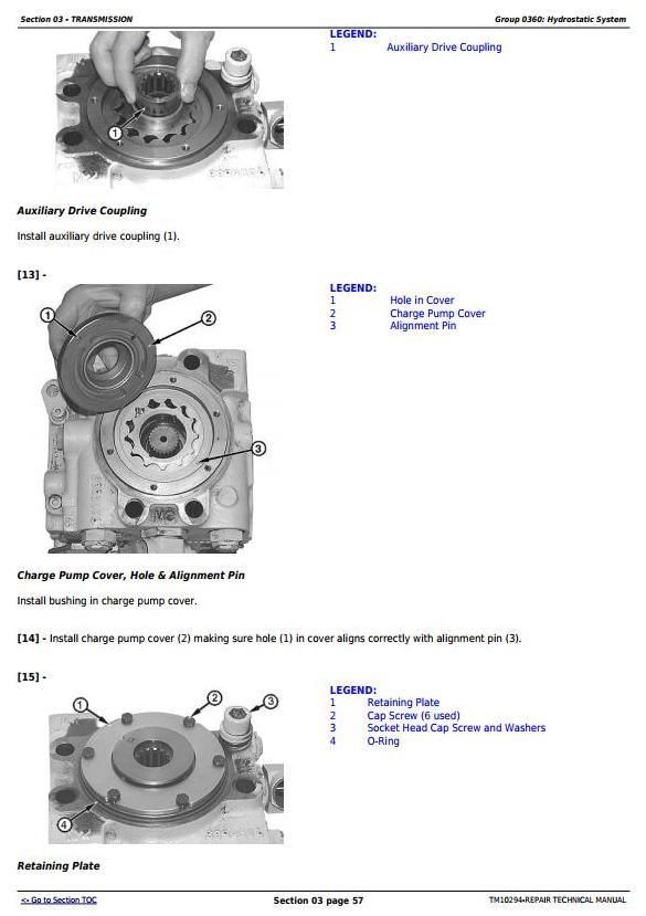 TM10294 - John Deere 450J, 550J, 650J Crawler Dozer (S.N.141667-159986) Service Repair Workshop Manual - 2