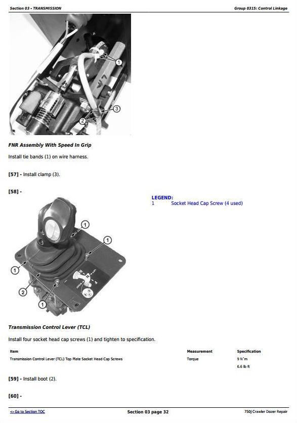 TM10295 - John Deere 750J Crawler Dozer (S.N. 141344-219962) Service Repair Technical Manual - 3