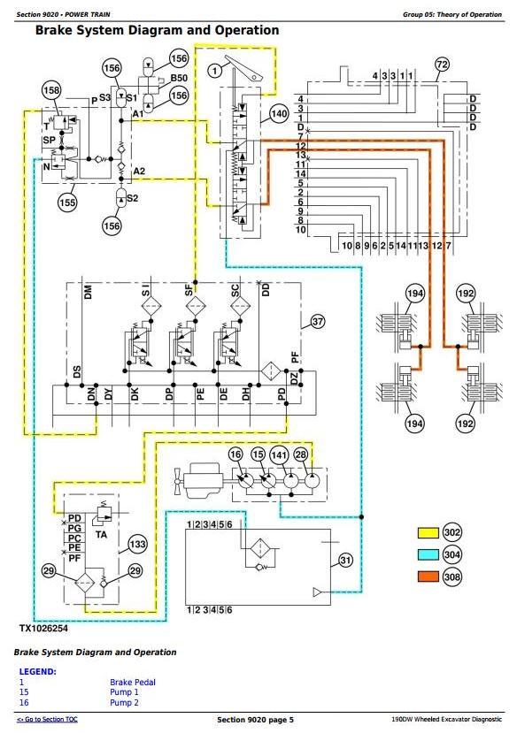 TM10542 - John Deere 190DW Wheeled Excavator Diagnostic, Operation and Test Manual - 2